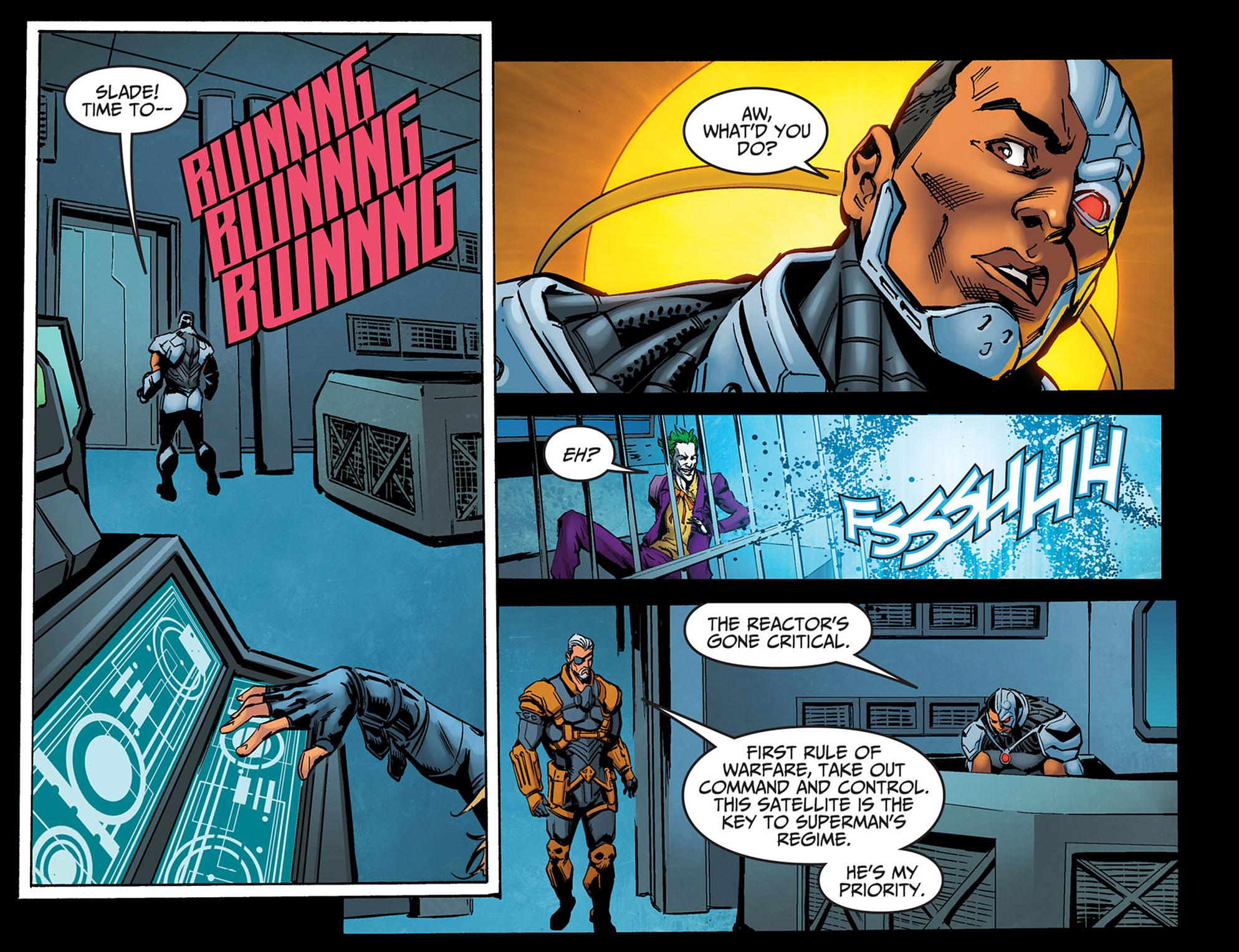 Read online Injustice: Ground Zero comic -  Issue #14 - 12