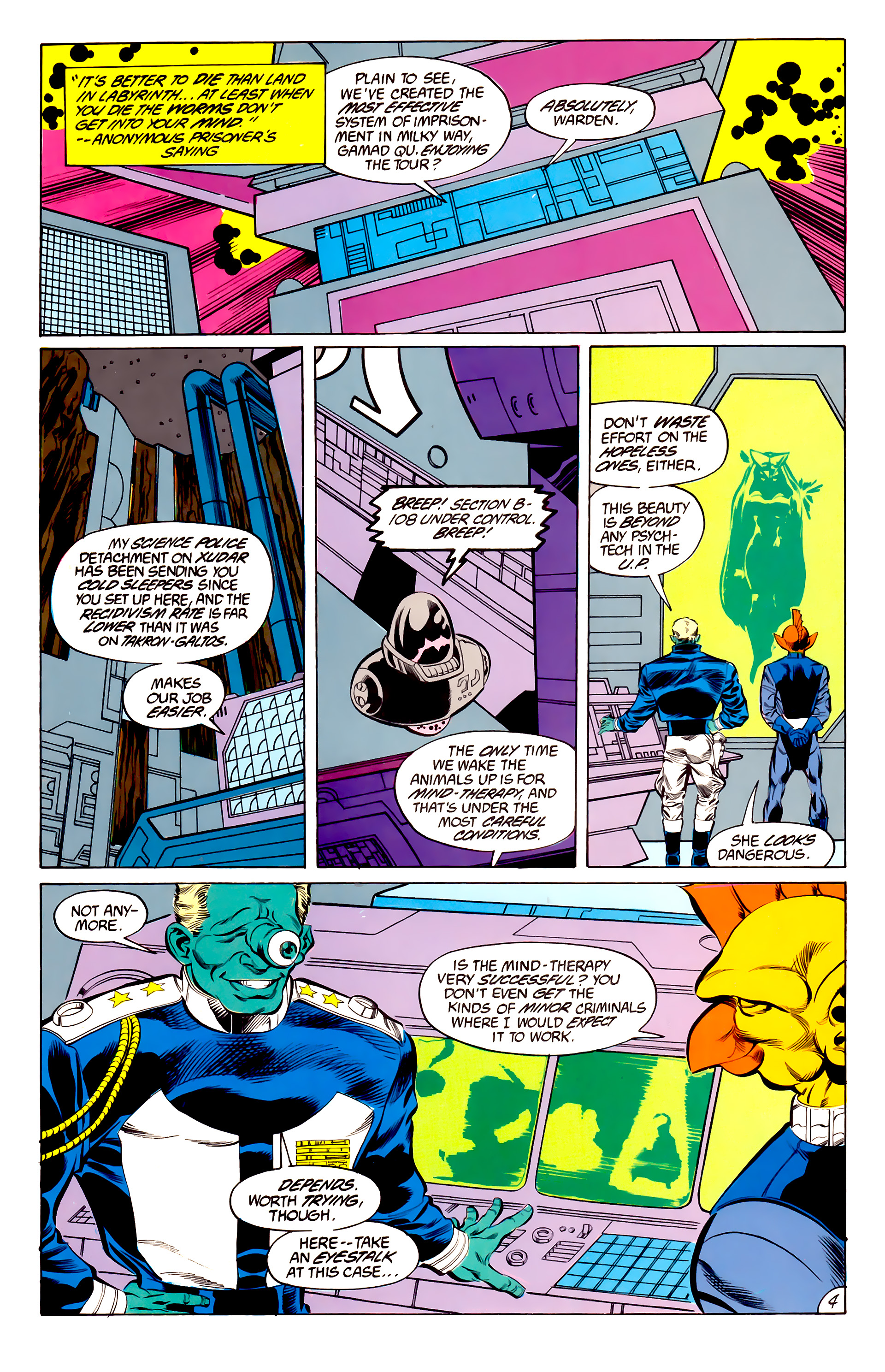 Legion of Super-Heroes (1984) 45 Page 4
