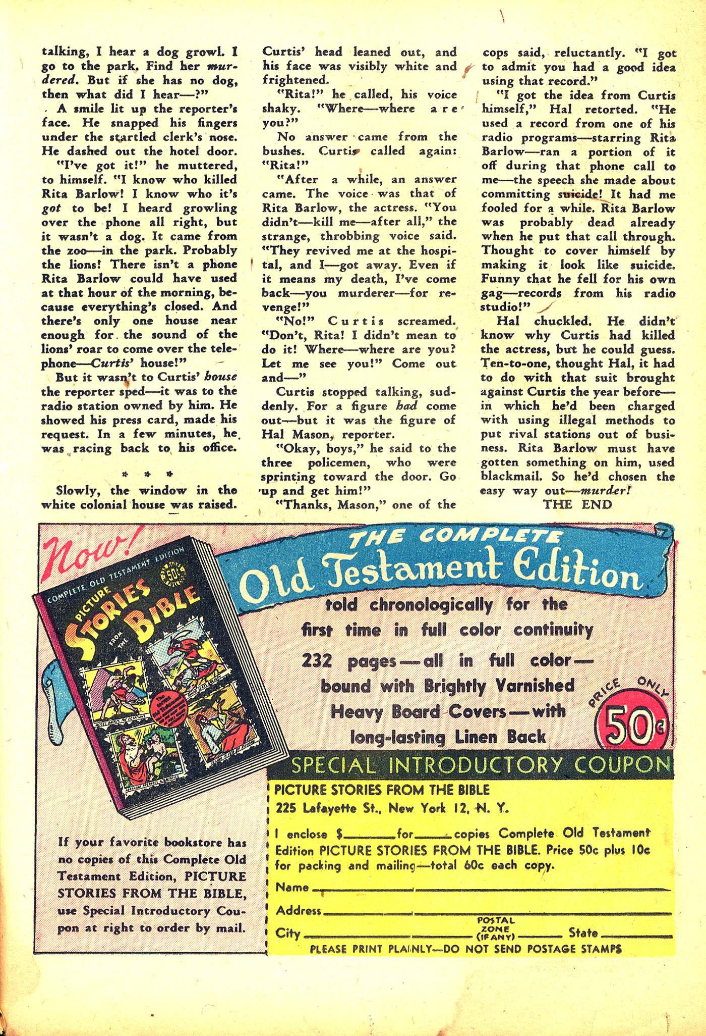 Read online Sensation (Mystery) Comics comic -  Issue #31 - 41