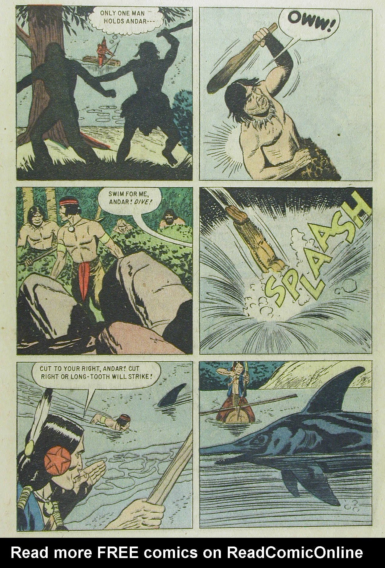 Read online Turok, Son of Stone comic -  Issue #13 - 13