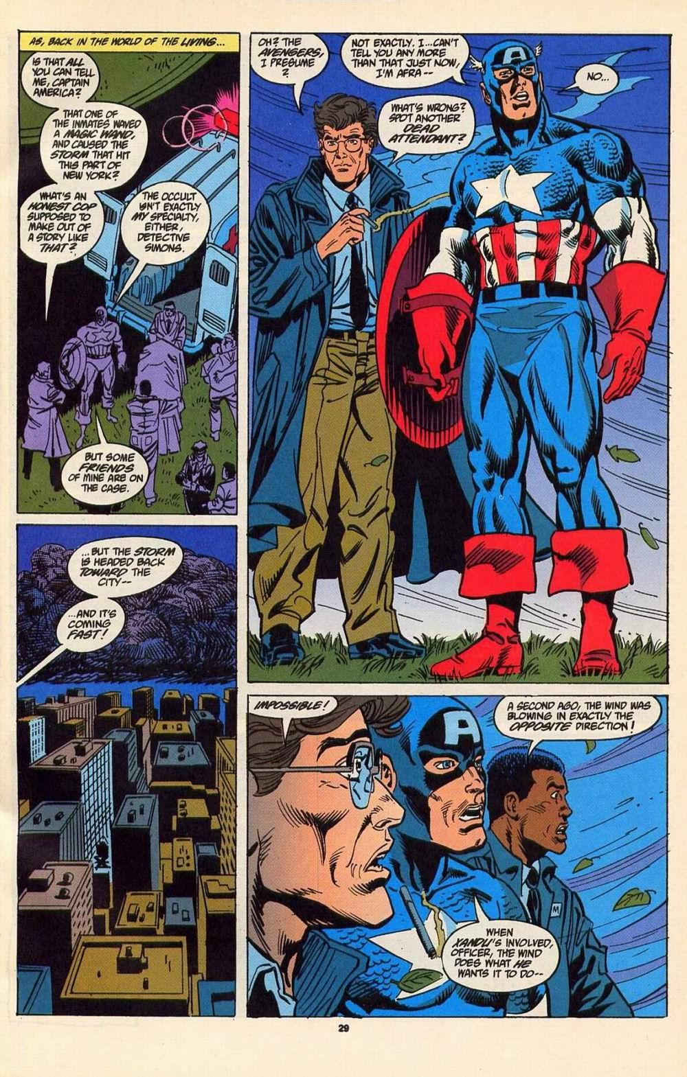 Read online Secret Defenders comic -  Issue #6 - 22