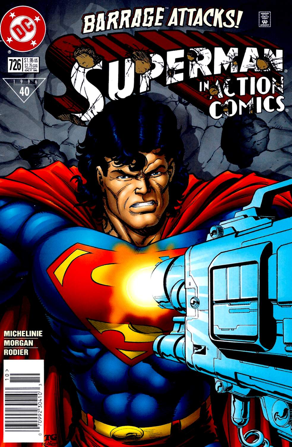 Read online Action Comics (1938) comic -  Issue #726 - 1