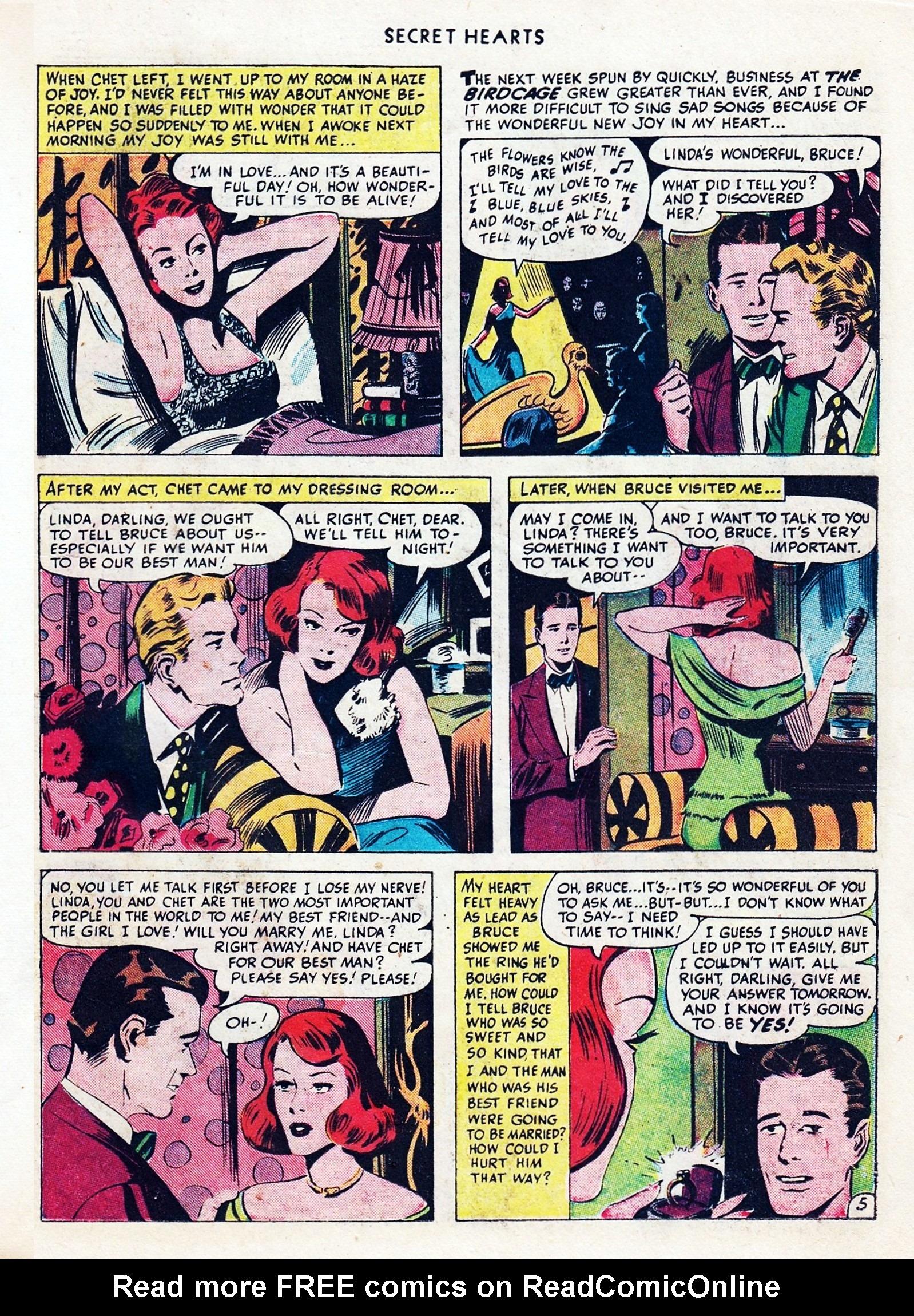 Read online Secret Hearts comic -  Issue #1 - 27