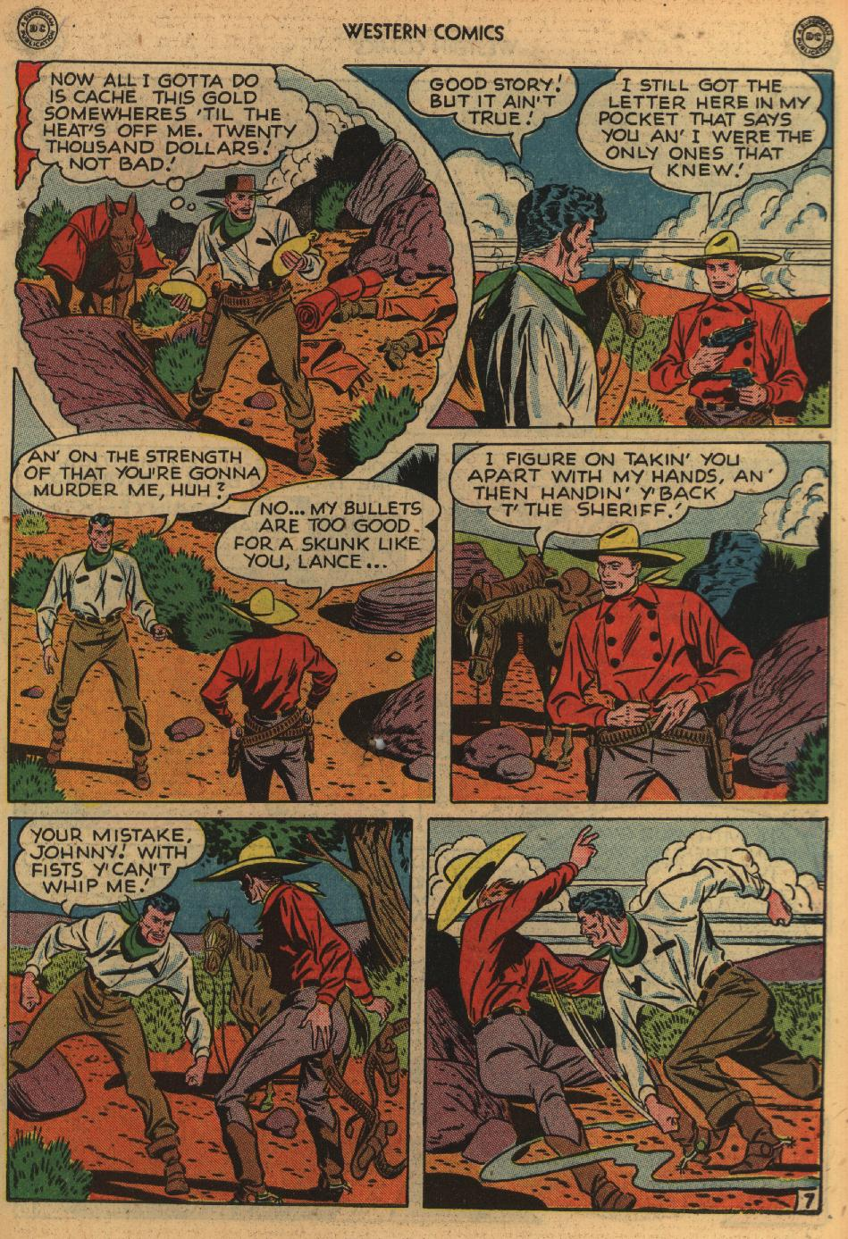 Western Comics issue 1 - Page 45