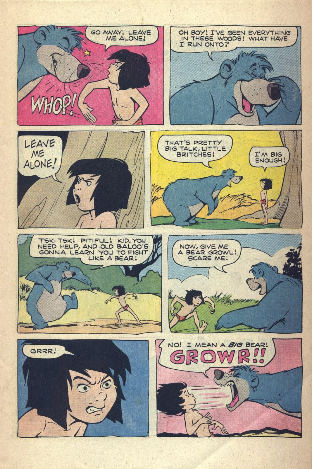Read online Walt Disney presents The Jungle Book comic -  Issue # Full - 14