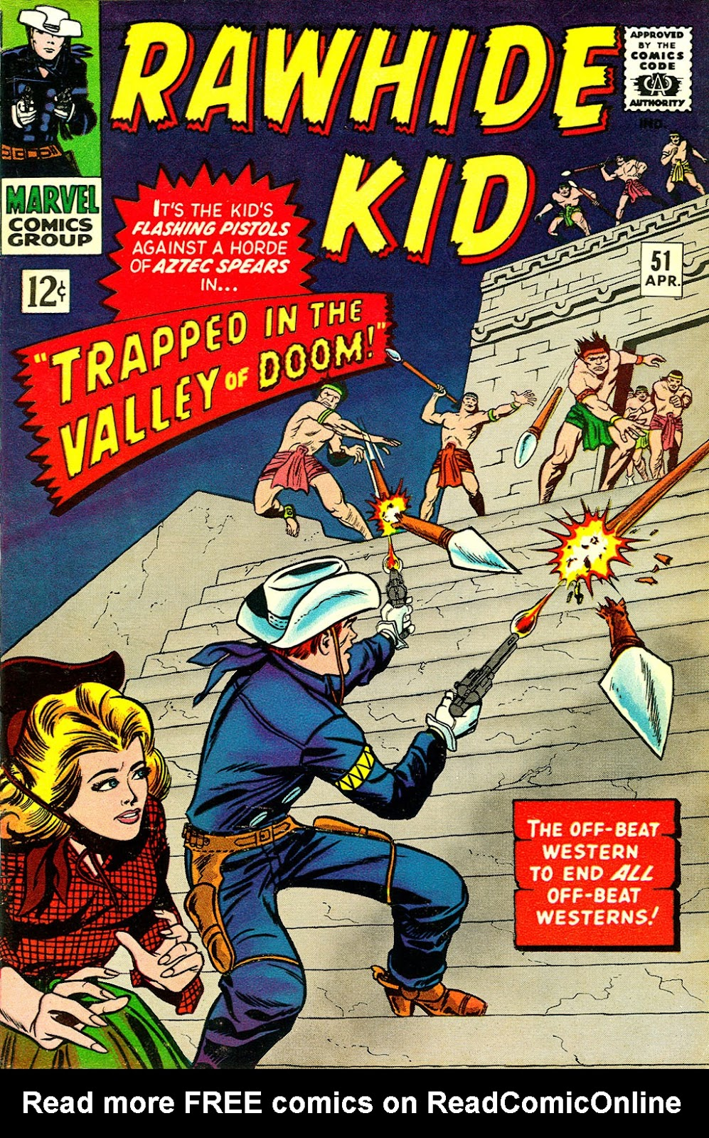 The Rawhide Kid (1955) issue 51 - Page 1
