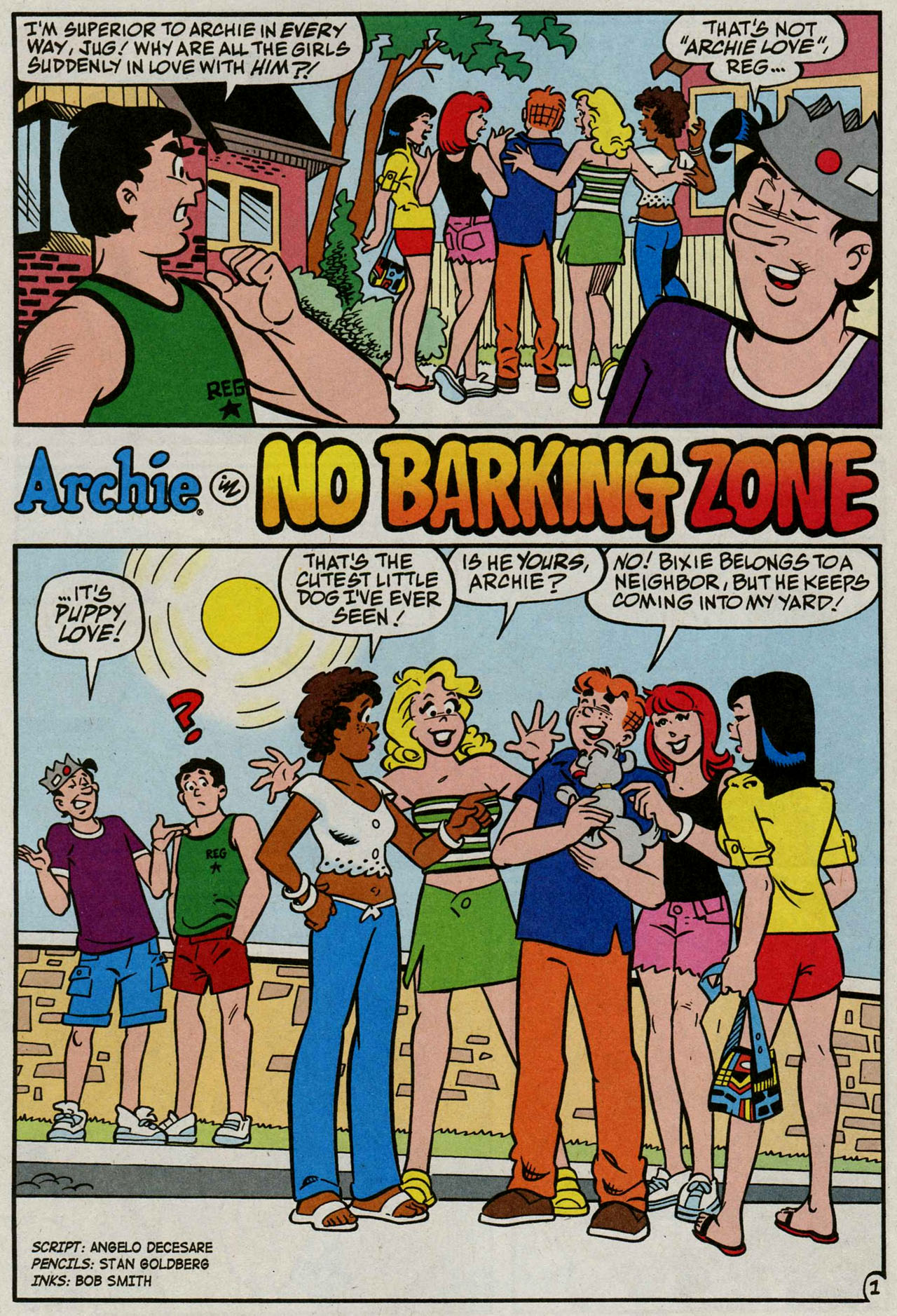 Read online Archie (1960) comic -  Issue #586 - 13