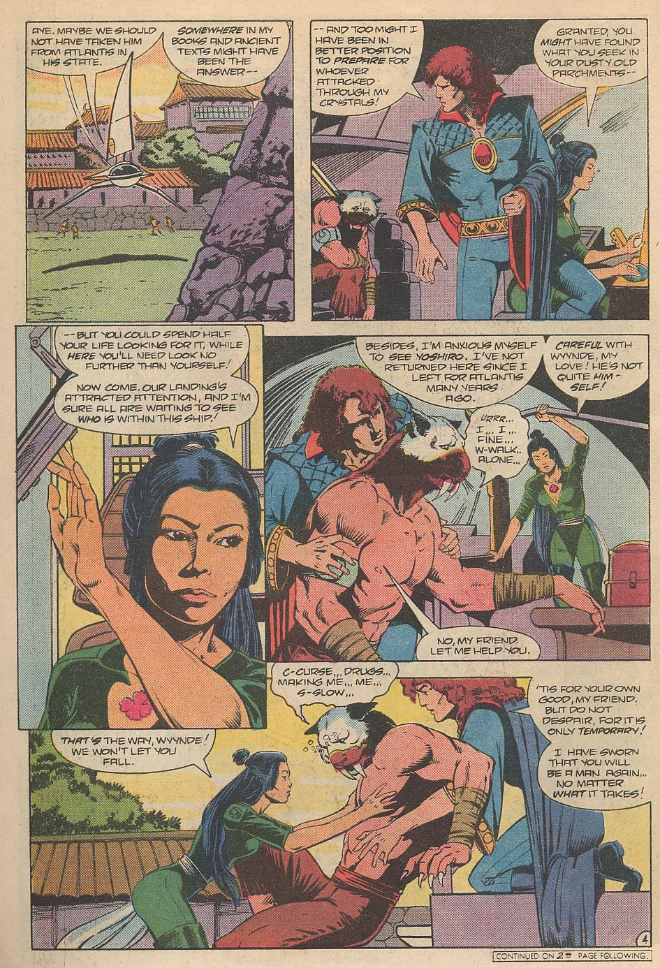 Read online Arion, Lord of Atlantis comic -  Issue #31 - 5