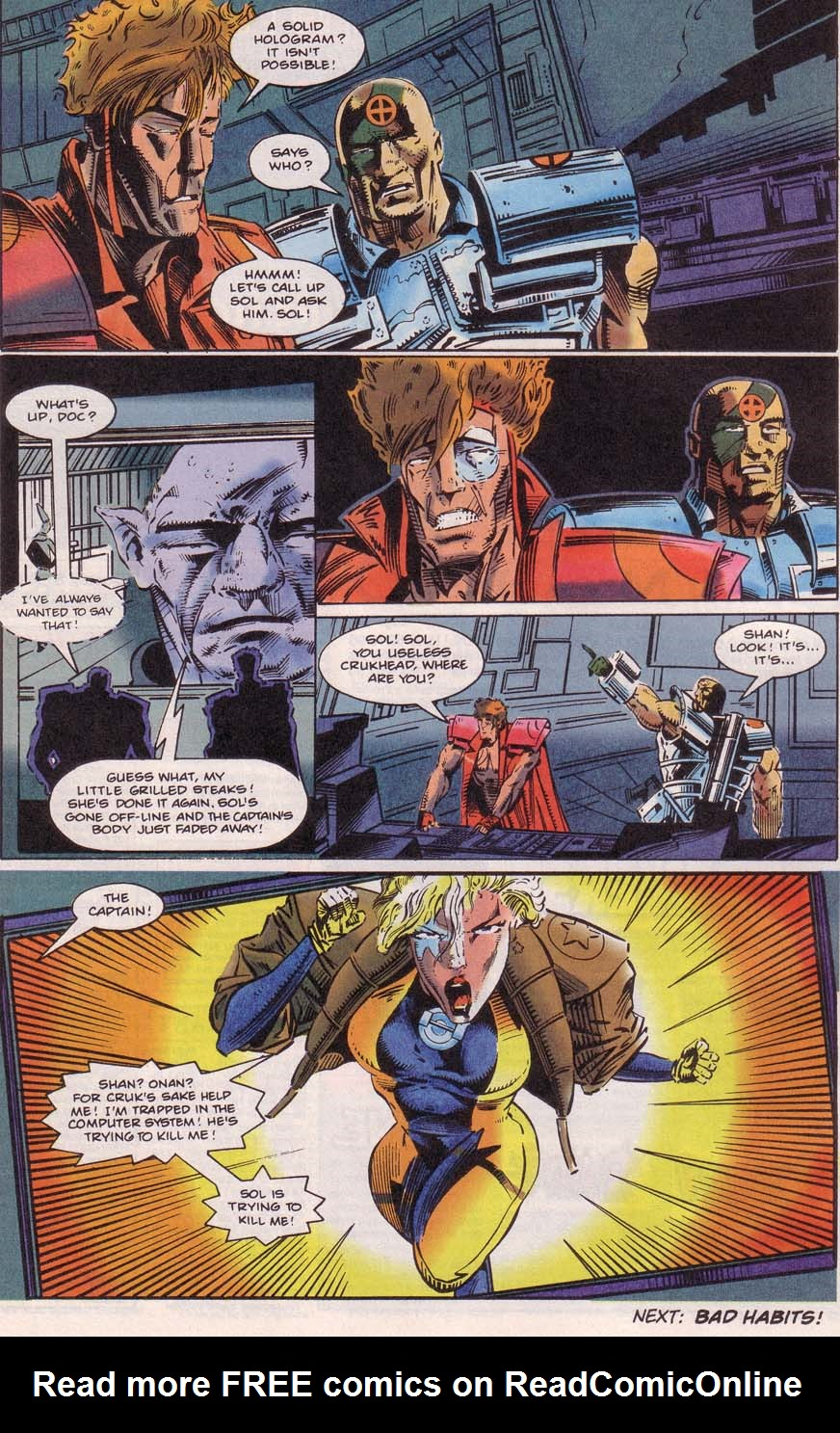 Read online Cyberspace 3000 comic -  Issue #4 - 21