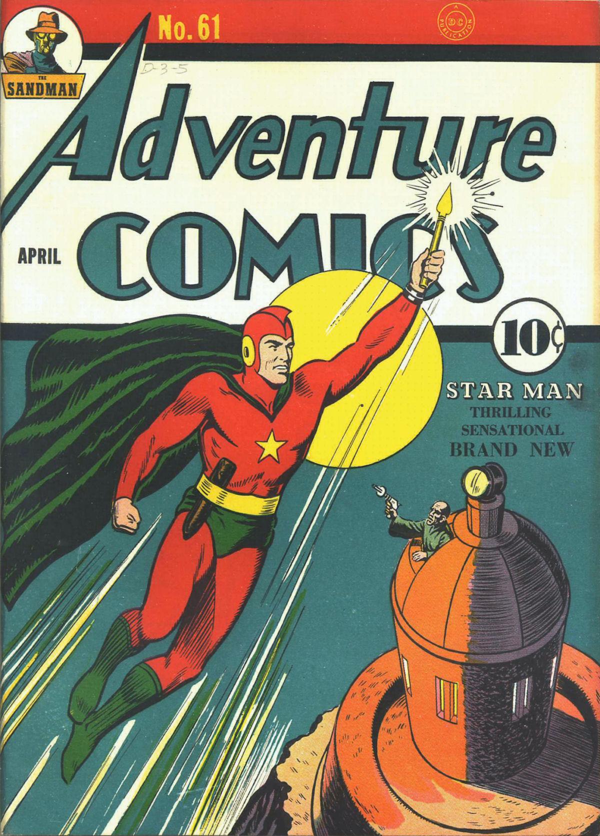 Read online Adventure Comics (1938) comic -  Issue #61 - 2