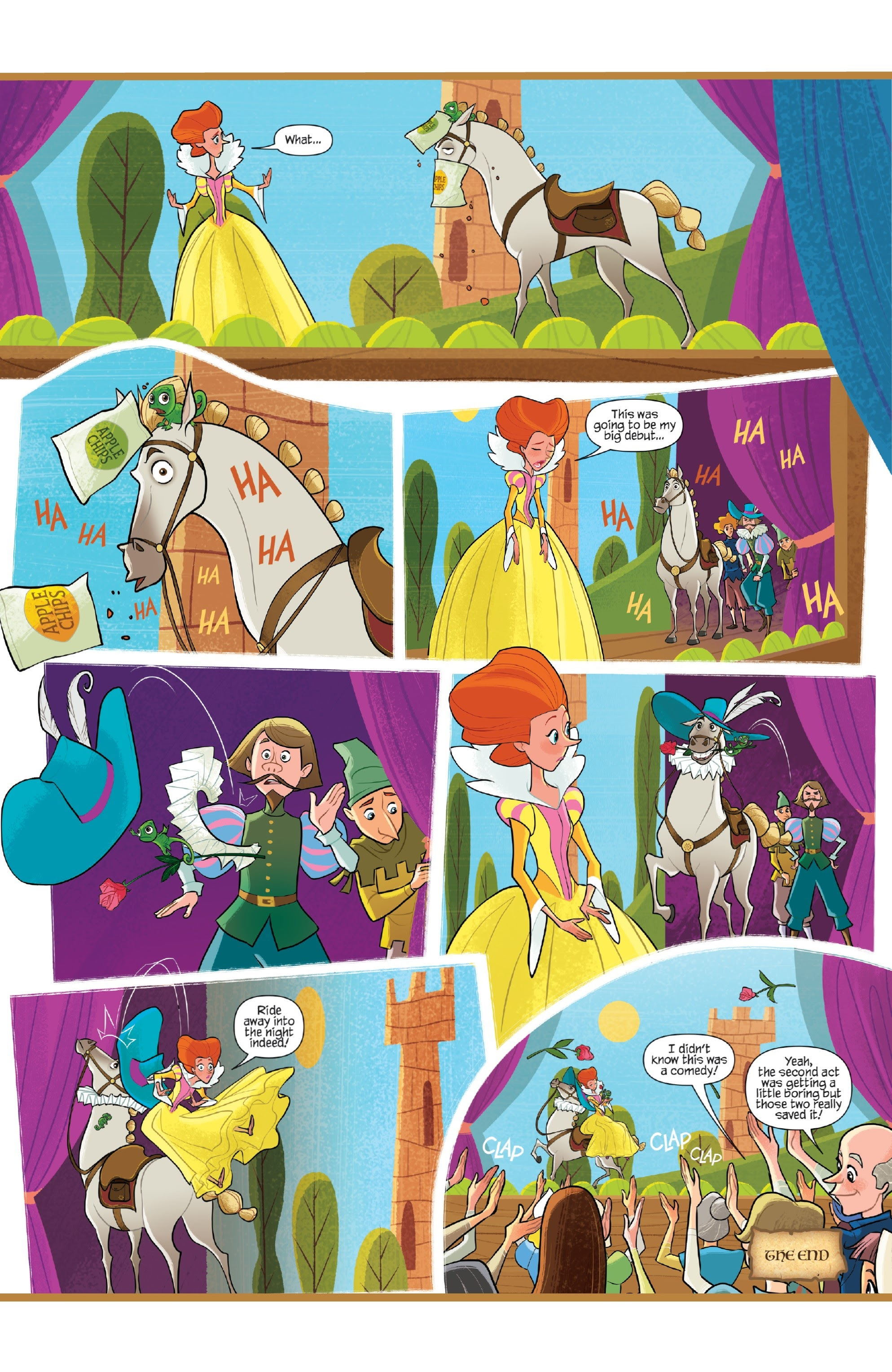 Tangled: The Series: Hair and Now 1 Page 23
