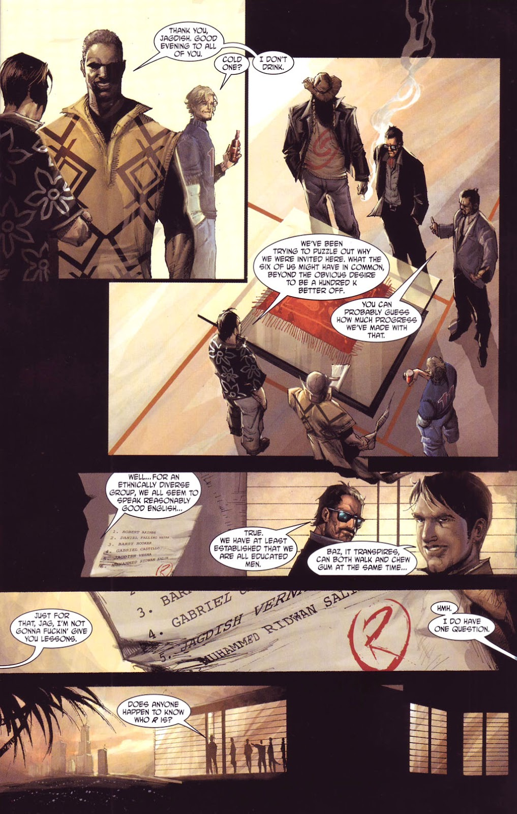 7 Brothers issue 1 - Page 12