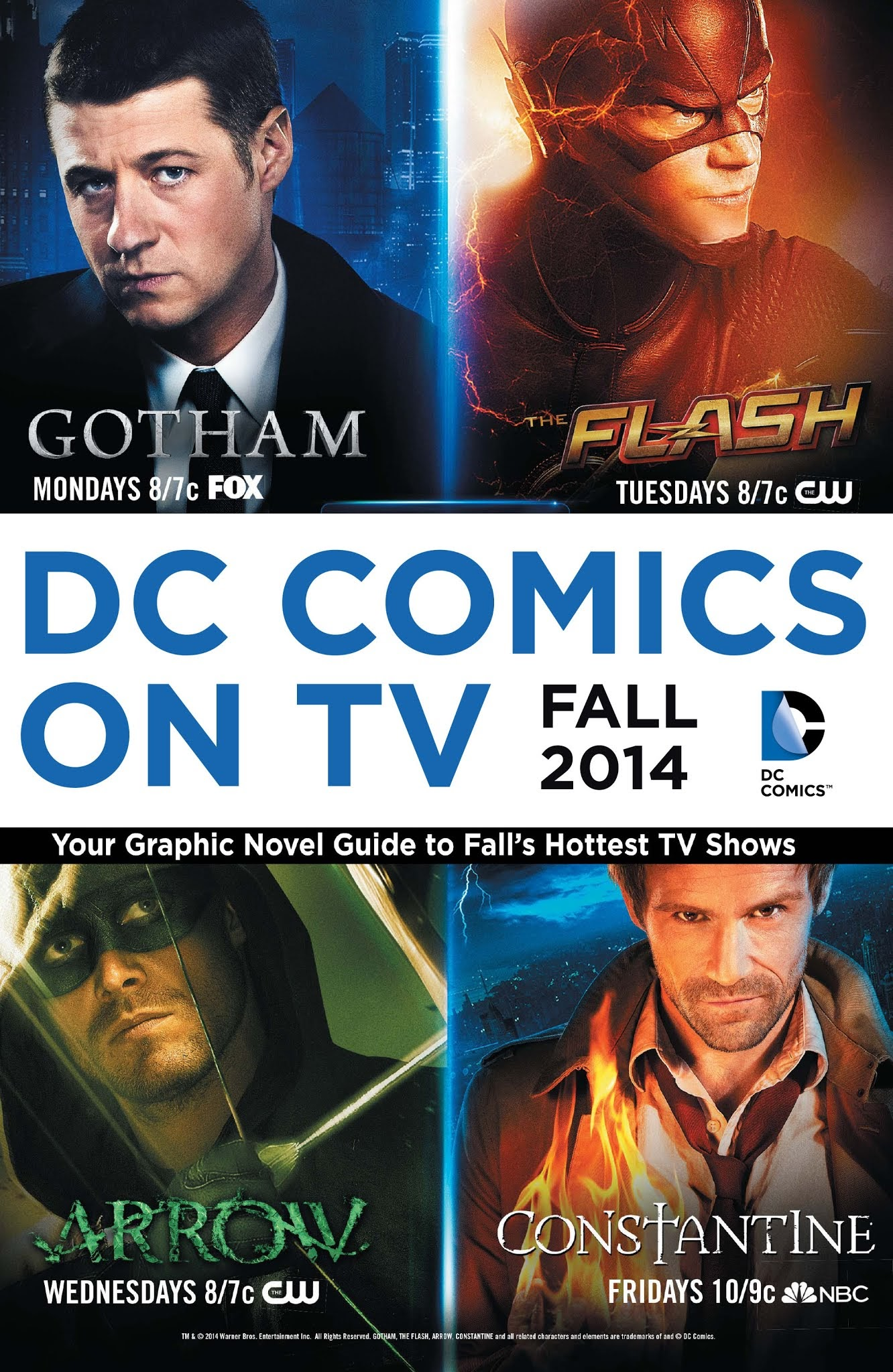 DC Comics on TV: Fall 2014 Graphic Novel Primer Full Page 1
