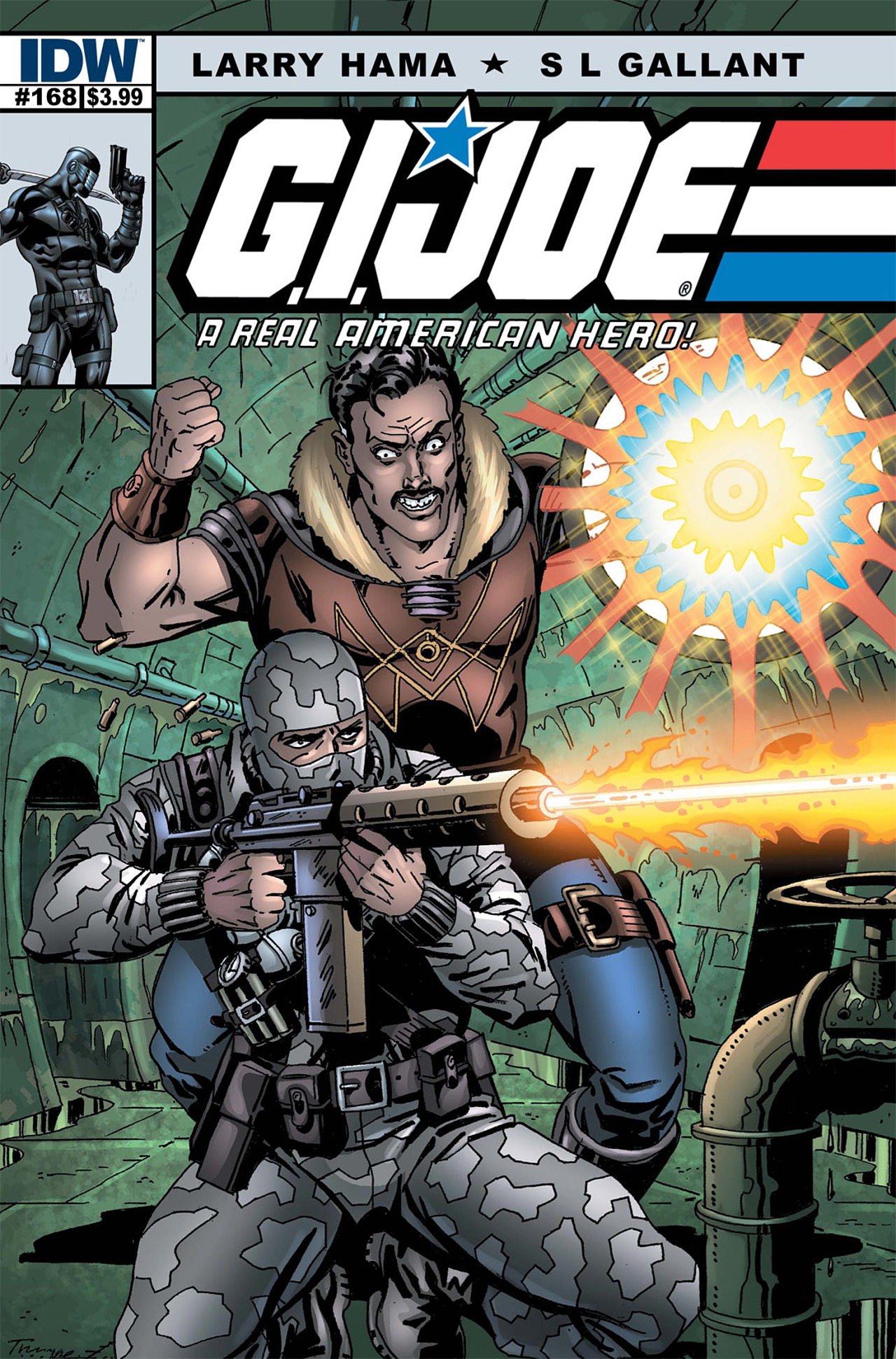 G.I. Joe: A Real American Hero 168 Page 1