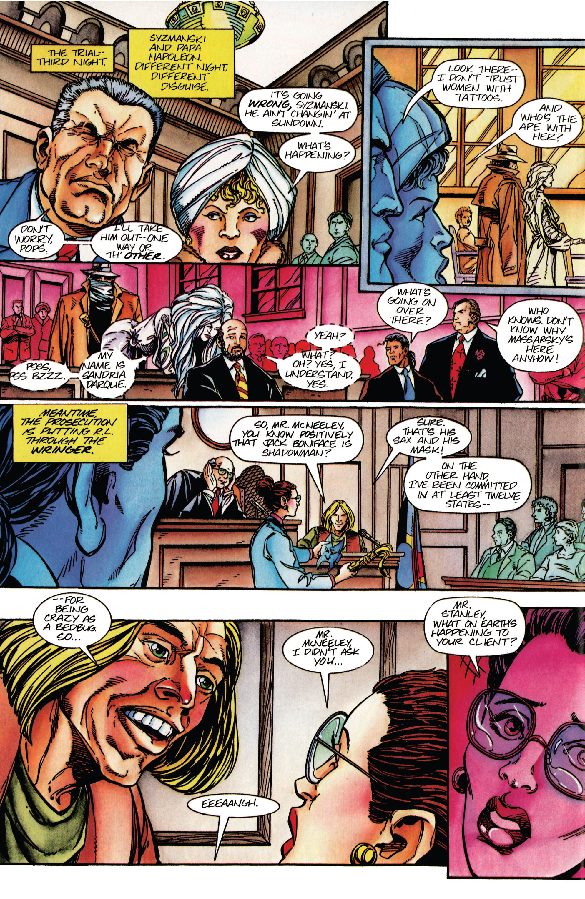 Read online Shadowman (1992) comic -  Issue #42 - 17