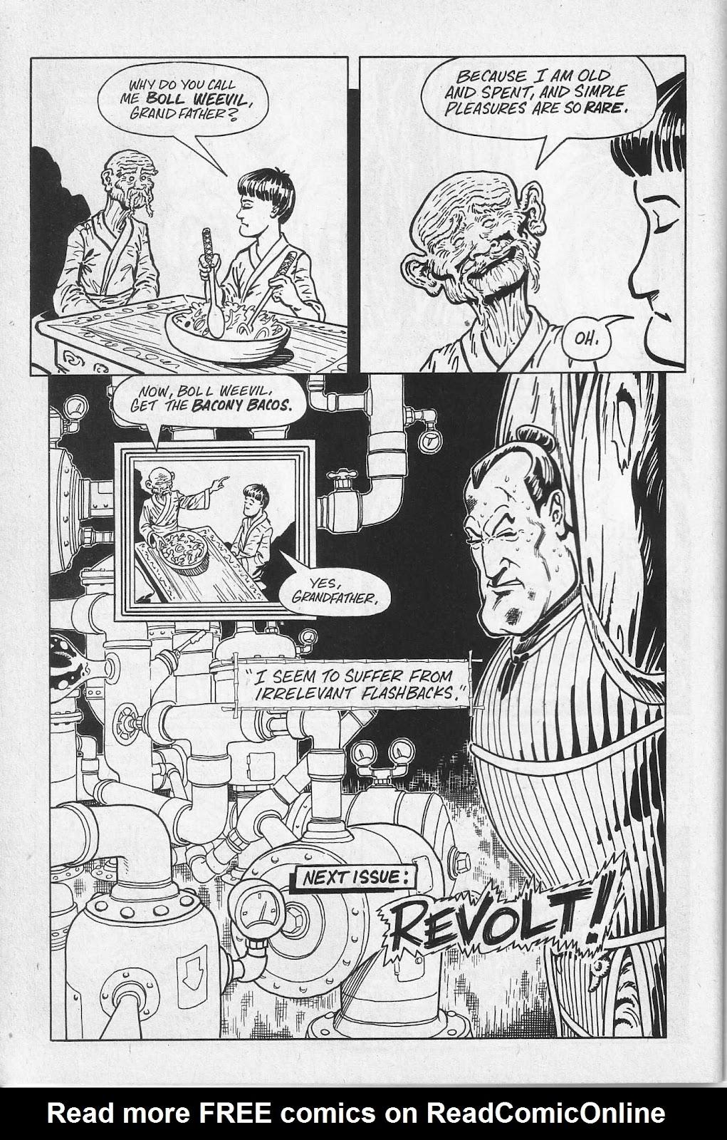 Read online Paul the Samurai (1991) comic -  Issue # TPB - 34