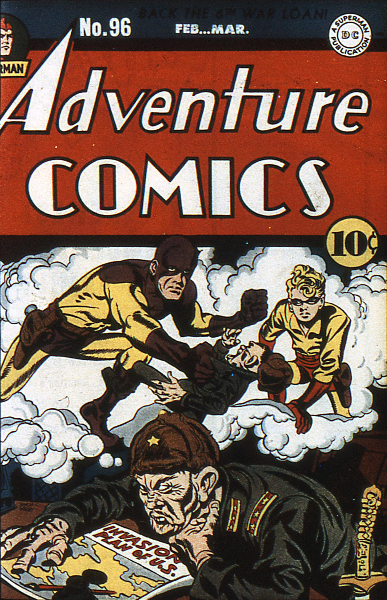 Read online Adventure Comics (1938) comic -  Issue #96 - 1