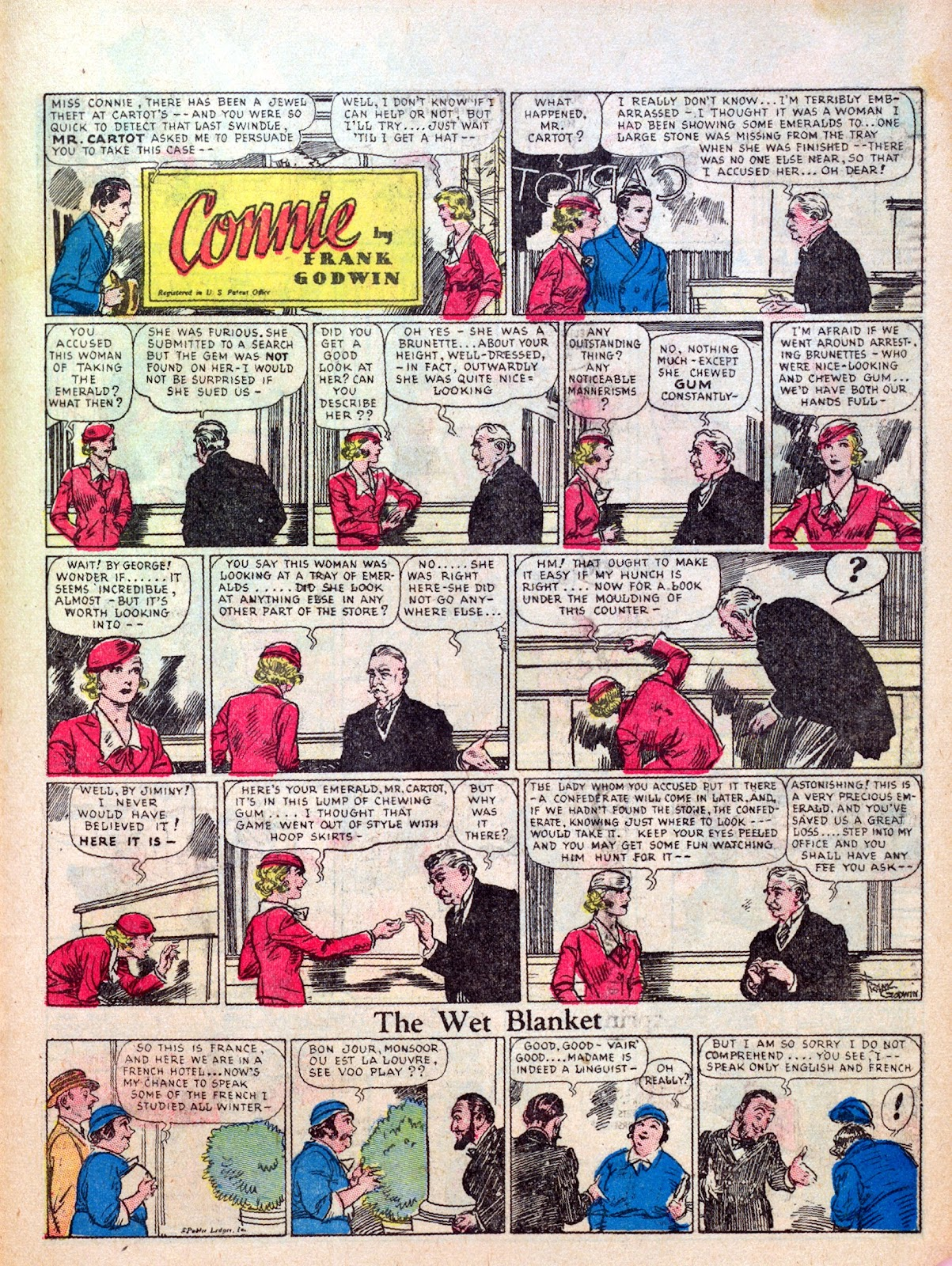 Read online Famous Funnies comic -  Issue #7 - 57