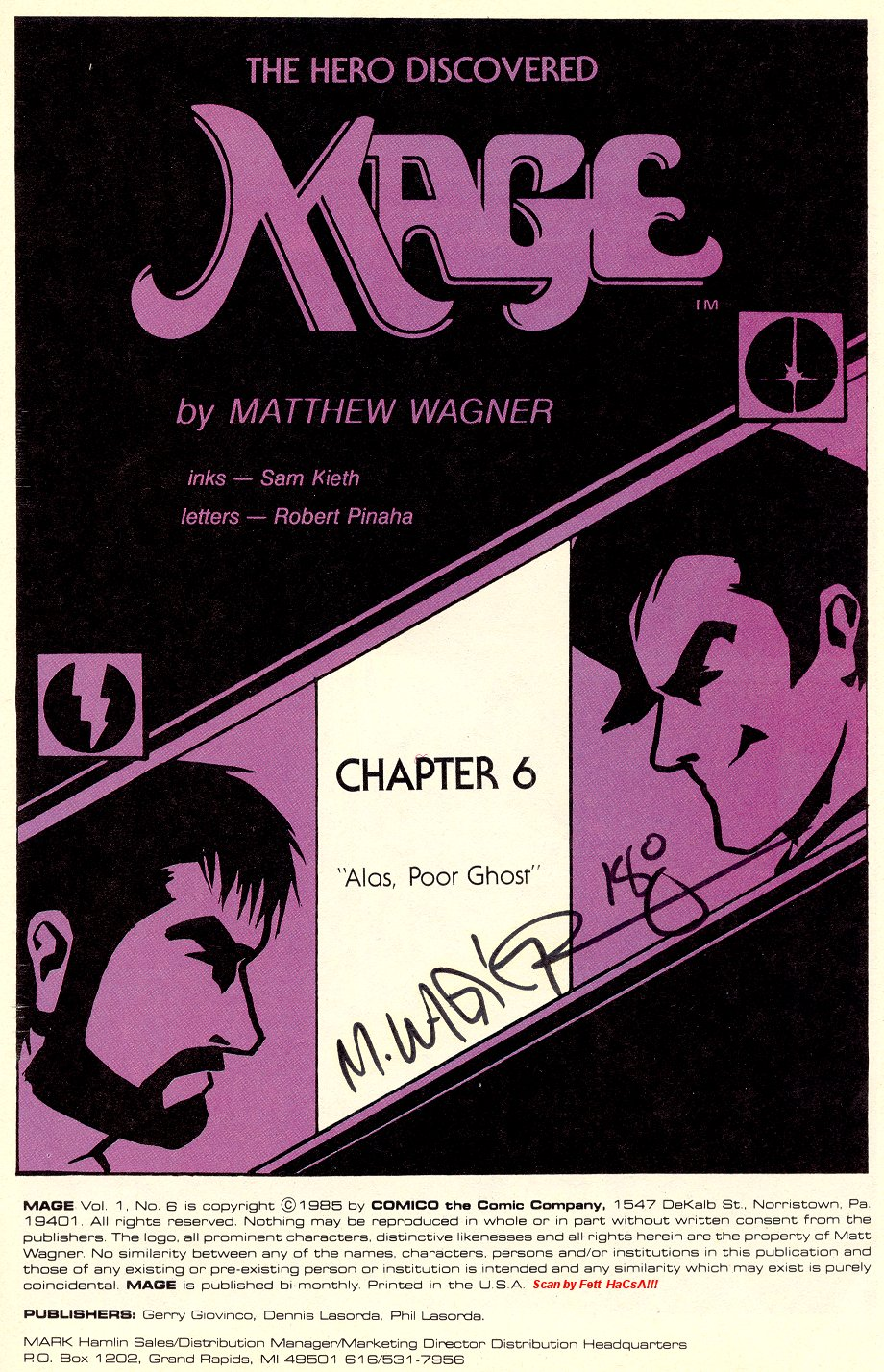 Read online Mage: The Hero Discovered comic -  Issue #6 - 3
