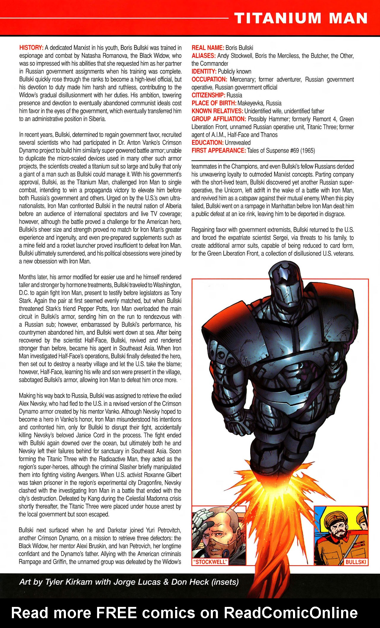 Read online All-New Official Handbook of the Marvel Universe A to Z comic -  Issue #11 - 47