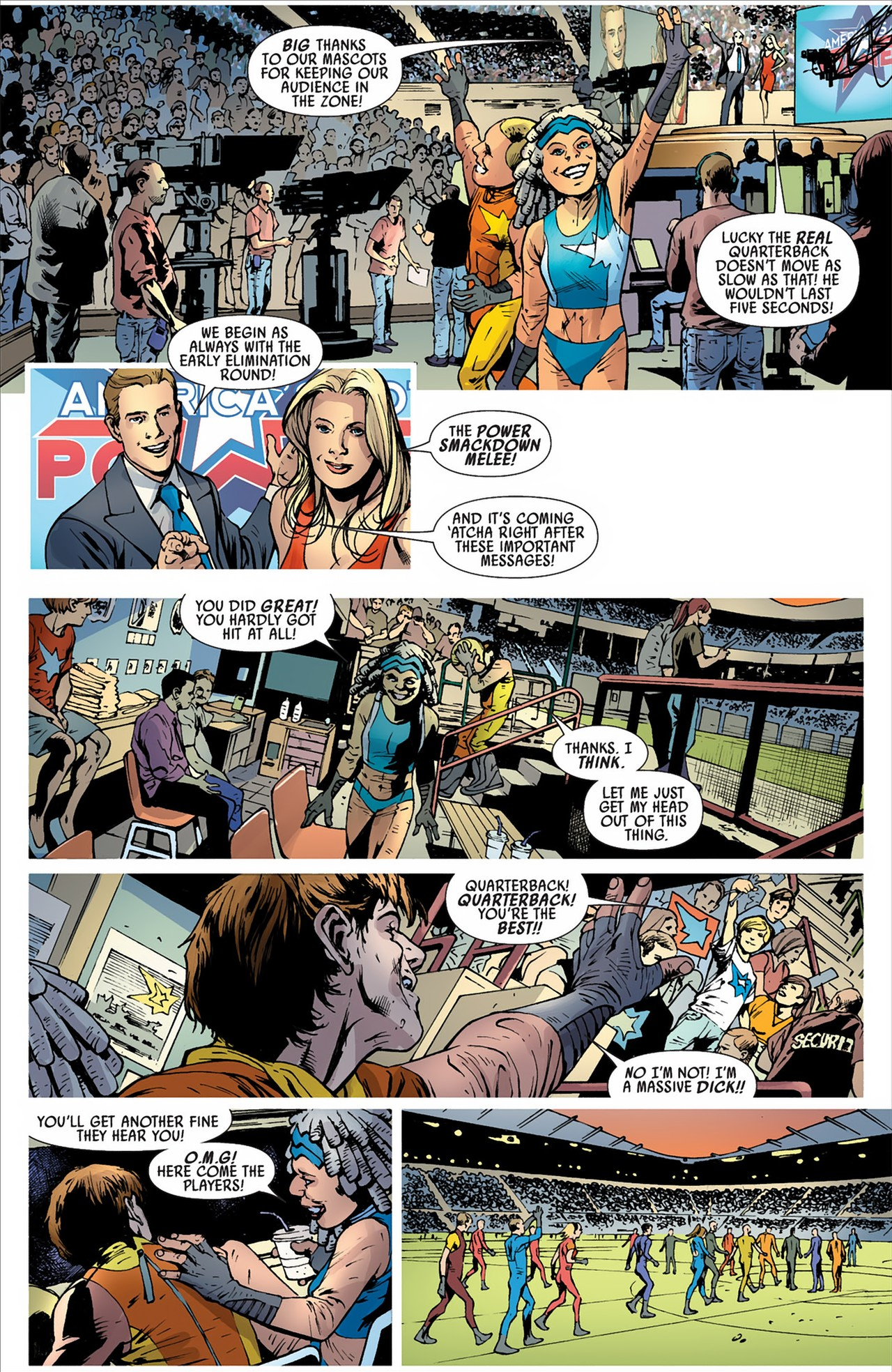 Read online America's Got Powers comic -  Issue #2 - 22