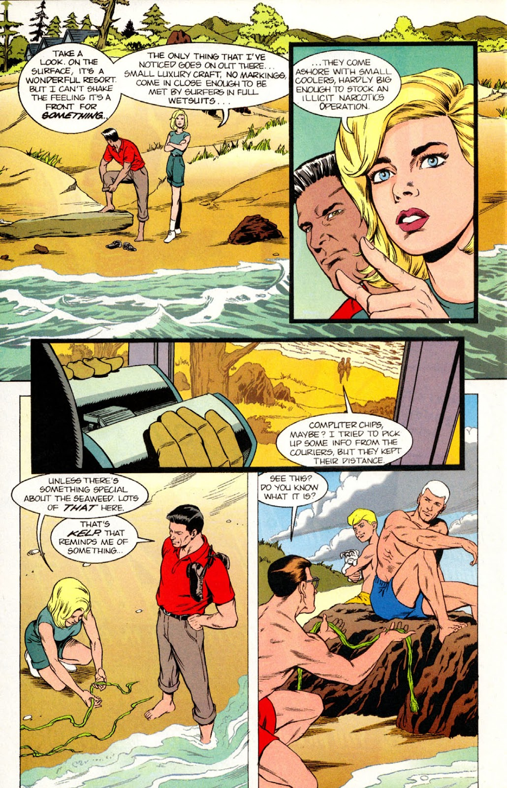 Read online The Real Adventures of Jonny Quest comic -  Issue #10 - 22