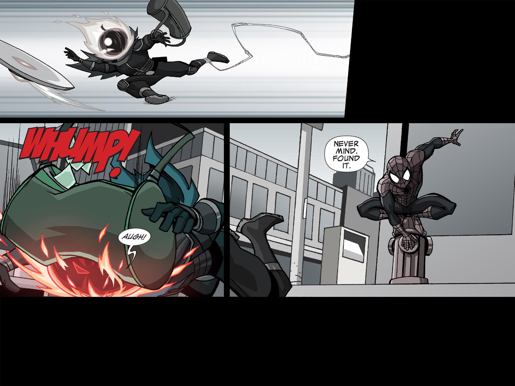 Read online Ultimate Spider-Man (Infinite Comics) (2015) comic -  Issue #1 - 12