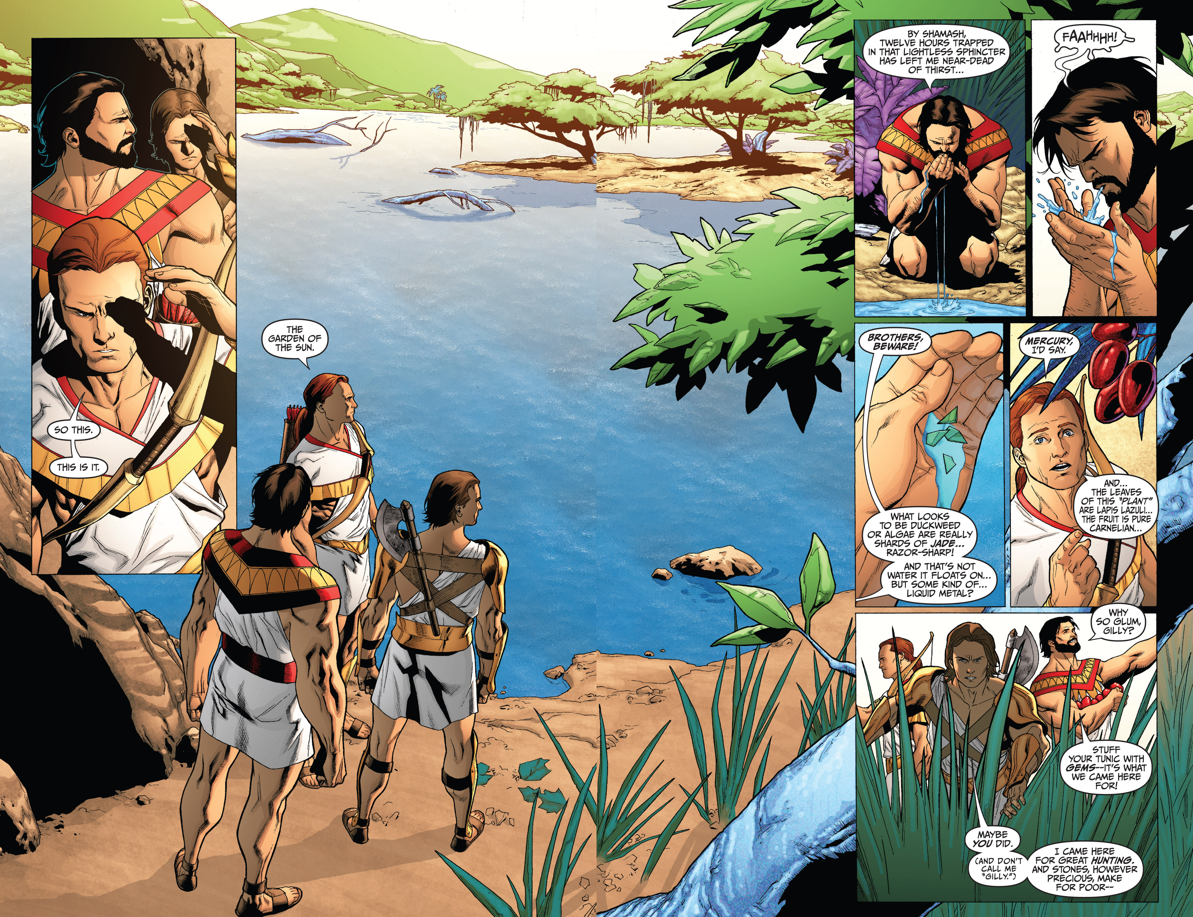 Read online Archer and Armstrong comic -  Issue #0 - 9