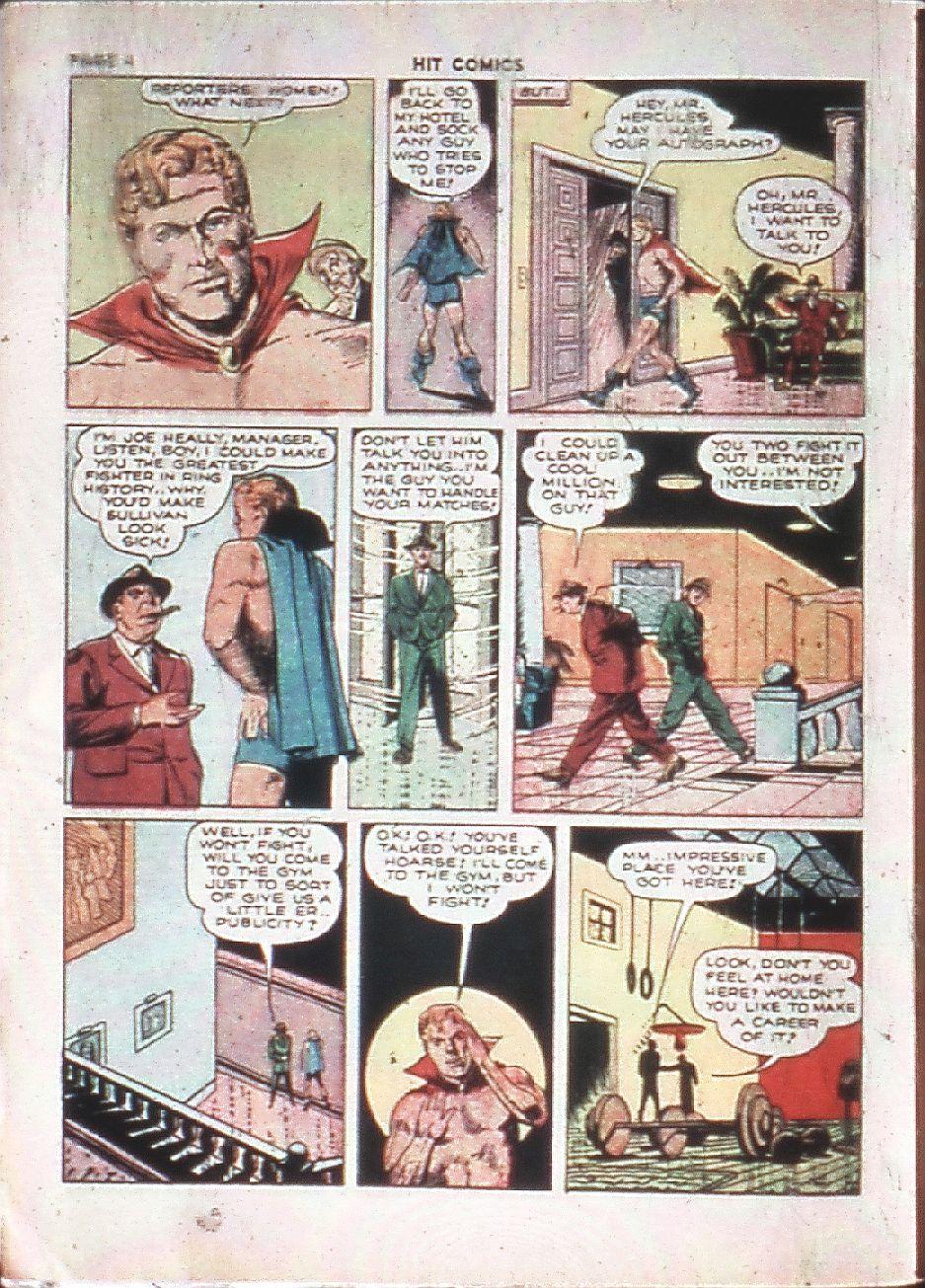 Read online Hit Comics comic -  Issue #10 - 6