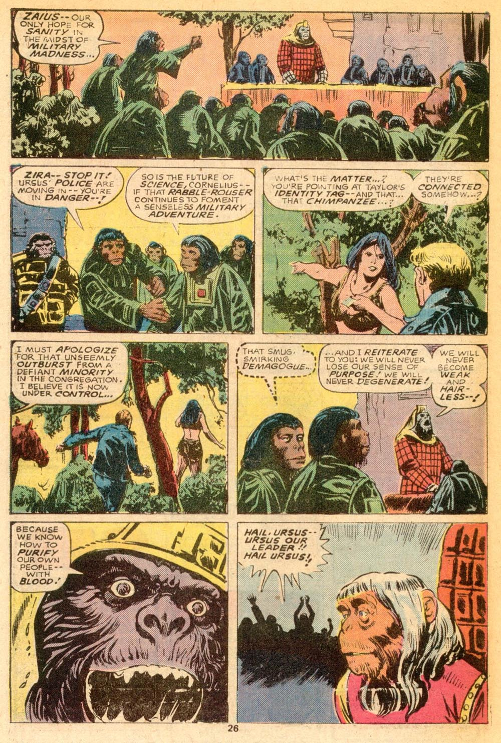Read online Adventures on the Planet of the Apes comic -  Issue #7 - 16