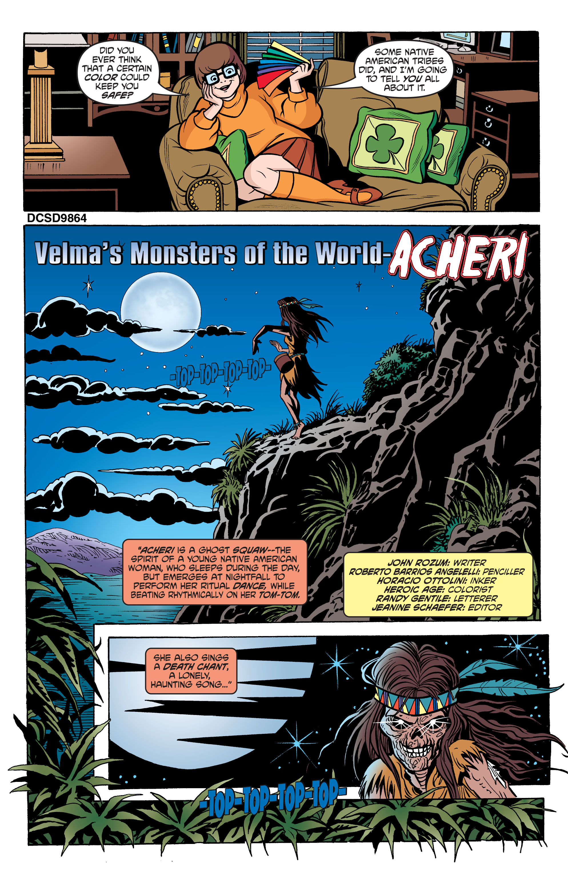 Read online Scooby-Doo: Where Are You? comic -  Issue #66 - 12