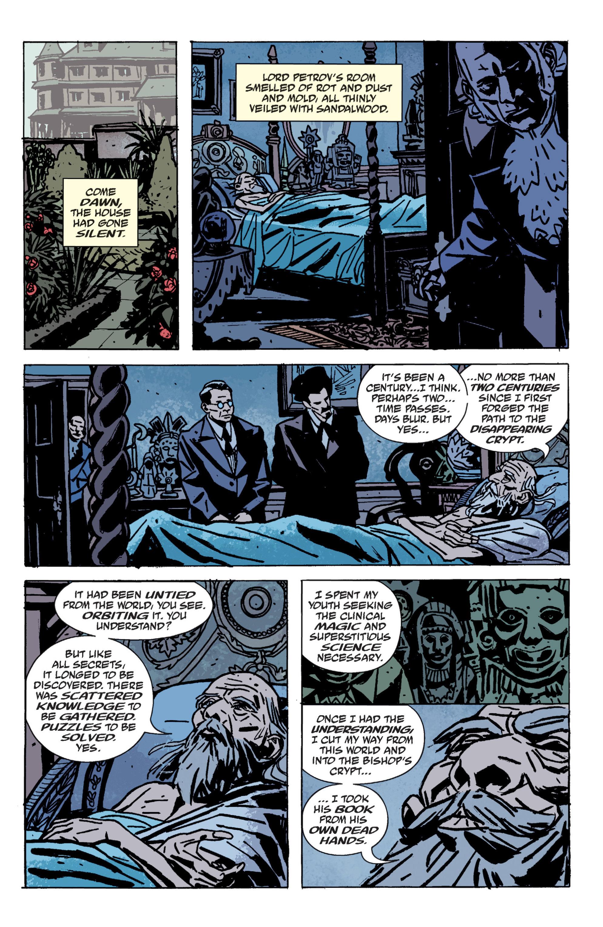 Read online B.P.R.D. (2003) comic -  Issue # TPB 9 - 139