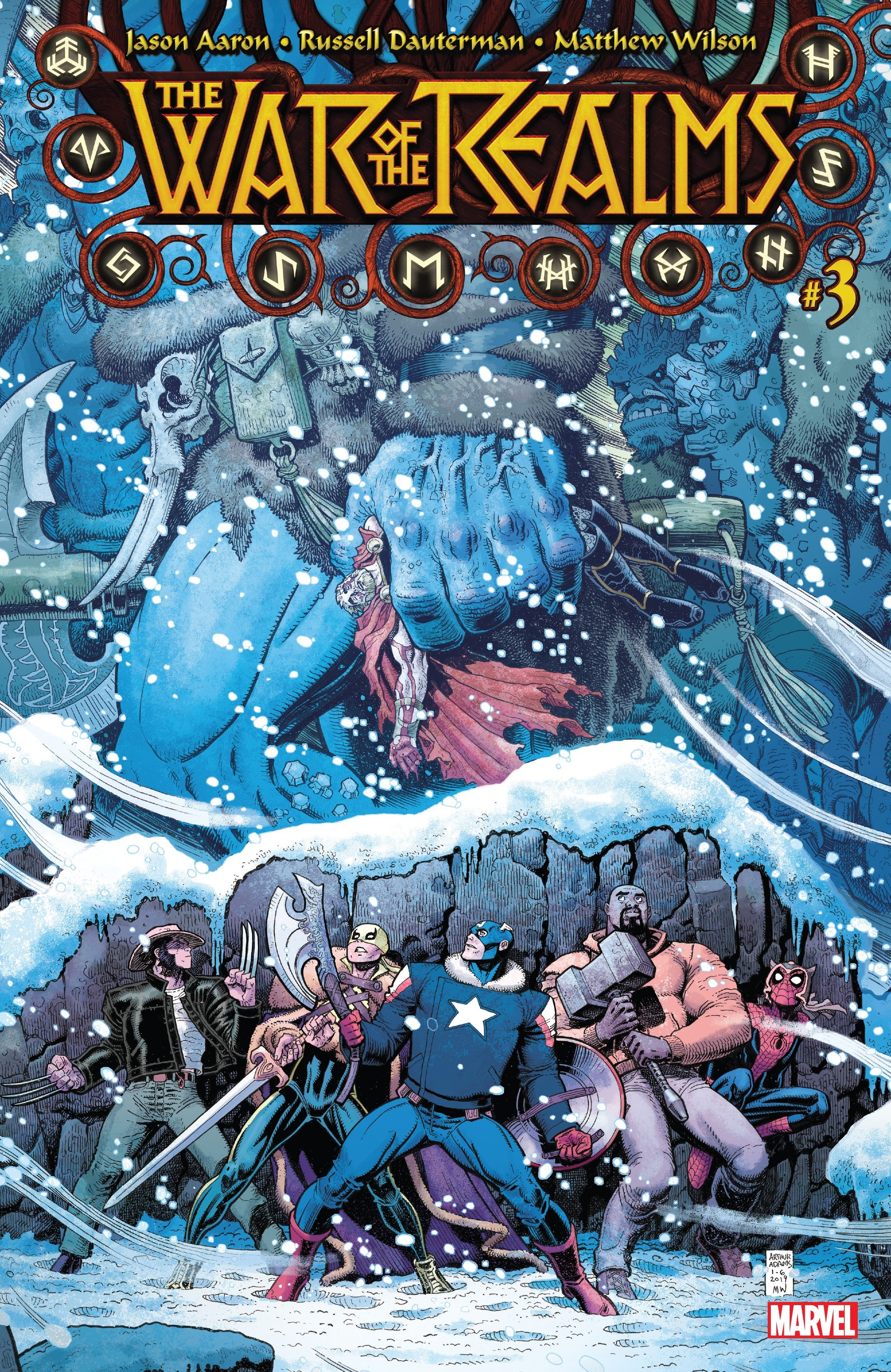 War of the Realms 3 Page 1