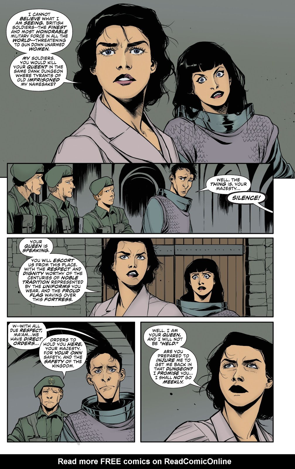 Read online Bettie Page (2018) comic -  Issue #3 - 18
