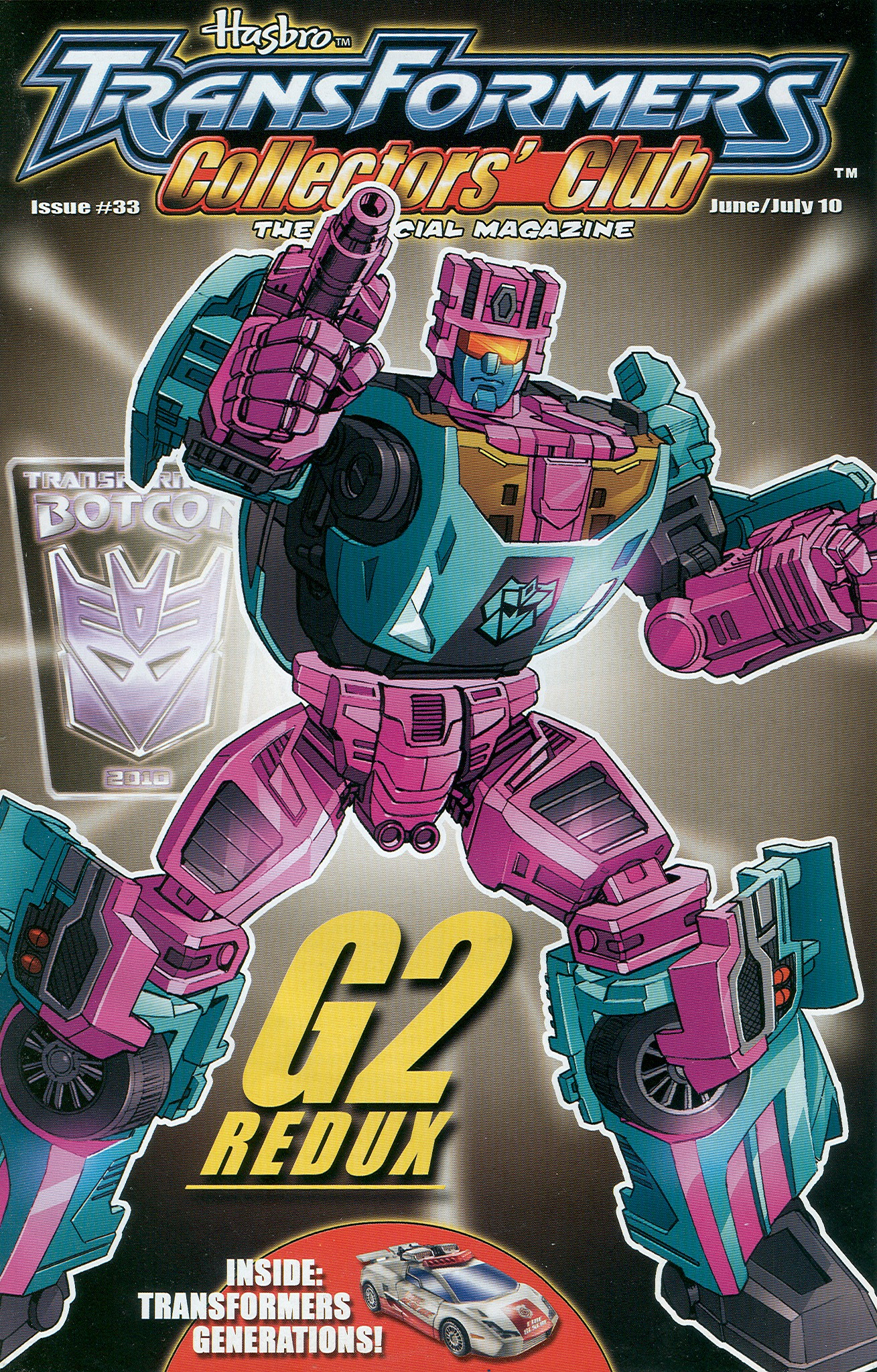 Read online Transformers: Collectors' Club comic -  Issue #33 - 1