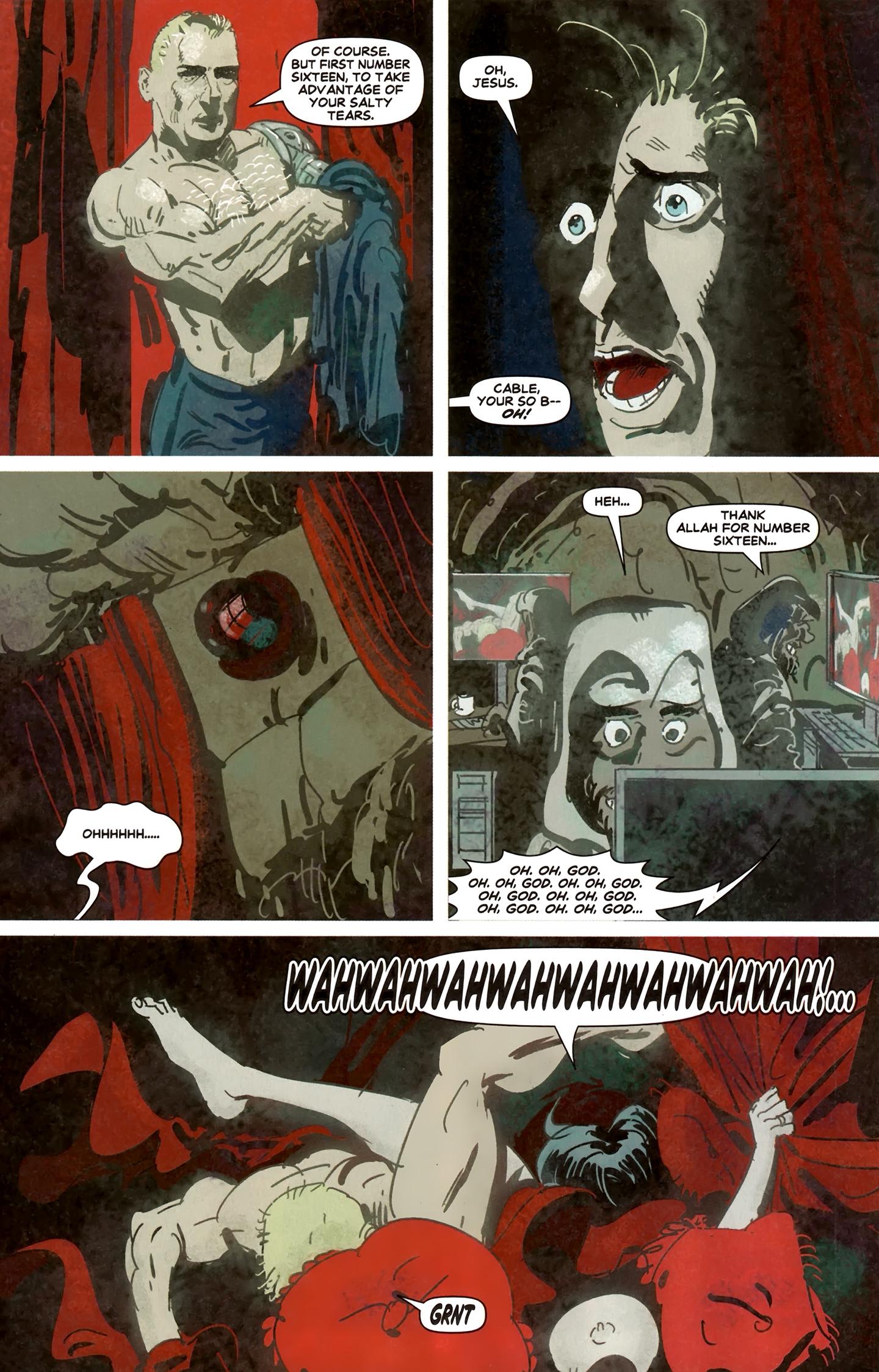 Read online Deadpool MAX X-Mas Special comic -  Issue # Full - 19