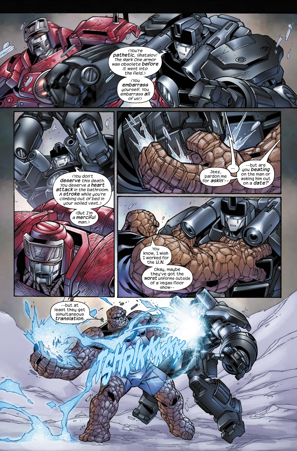 Read online Ultimate Fantastic Four (2004) comic -  Issue #49 - 9