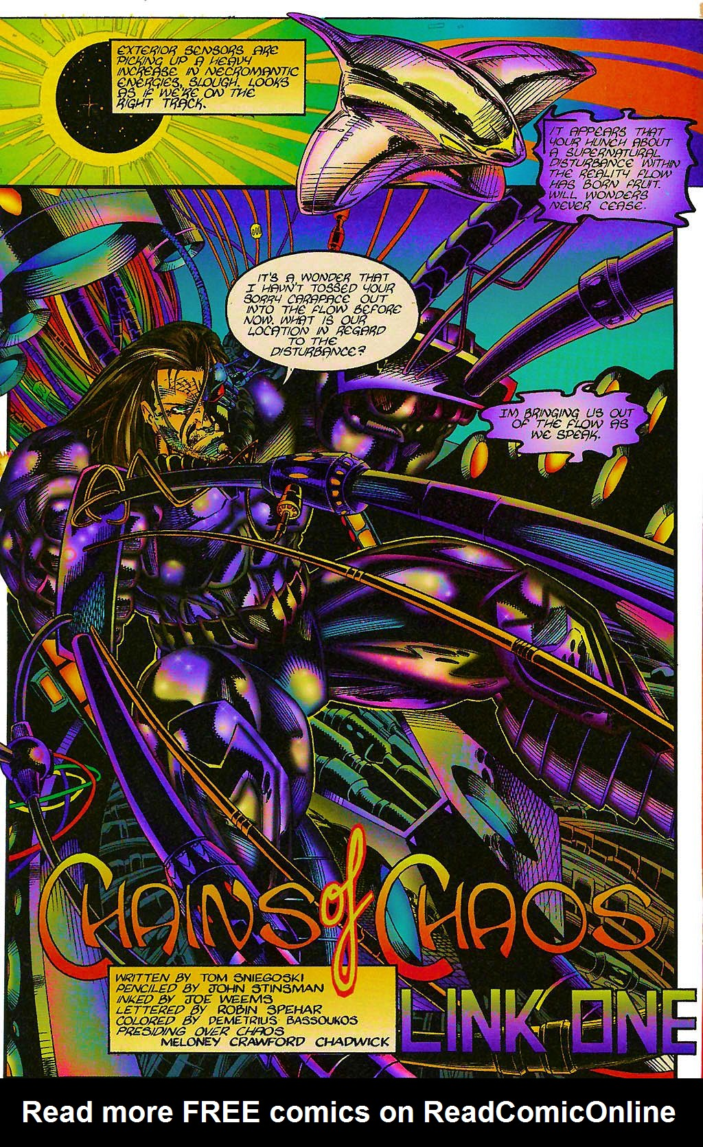 Read online Chains of Chaos comic -  Issue #1 - 4