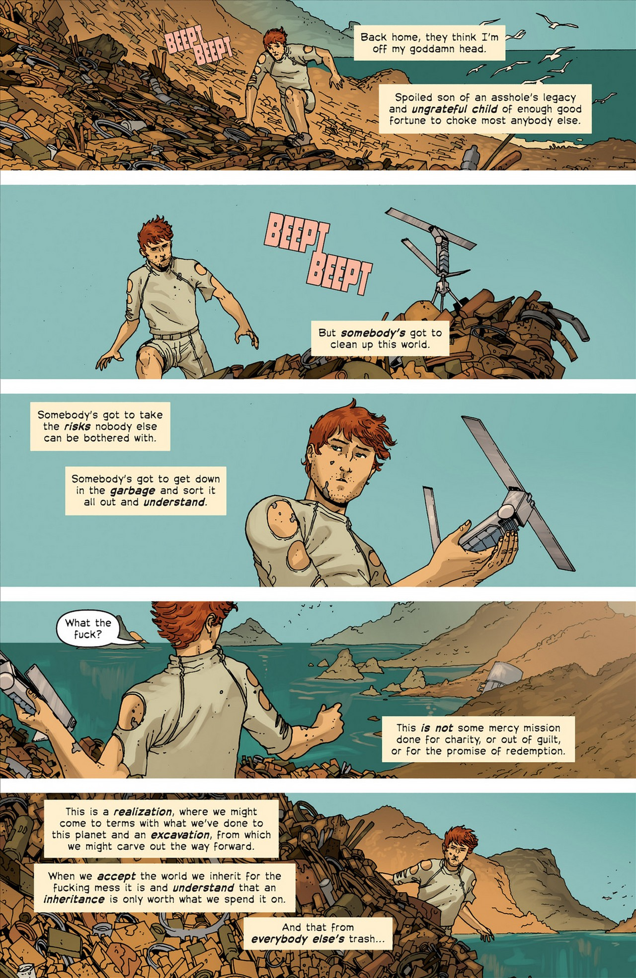 Read online Great Pacific comic -  Issue #4 - 20
