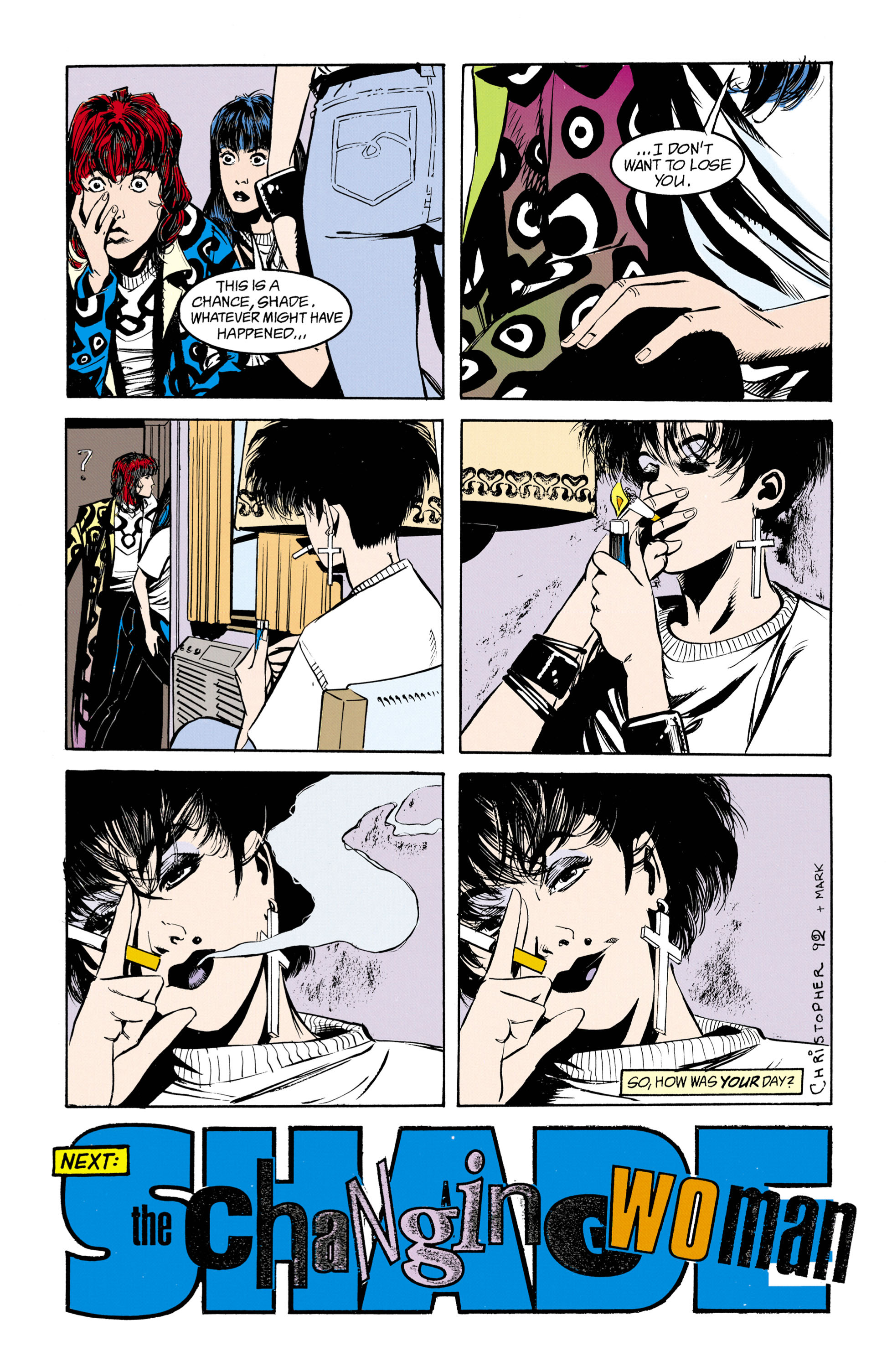 Shade, the Changing Man (1990) issue 26 - Page 25