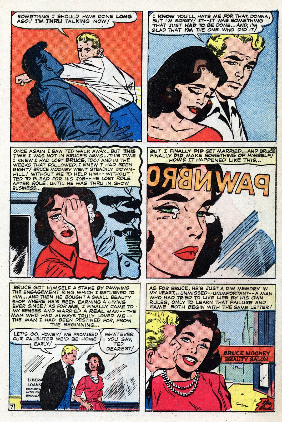 Love Romances (1949) issue 95 - Page 11