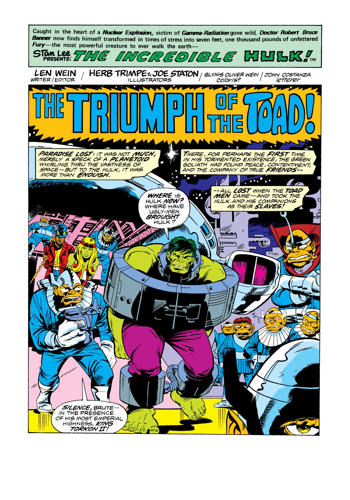 Read online Marvel Masterworks: The Incredible Hulk comic -  Issue # TPB 11 (Part 2) - 40