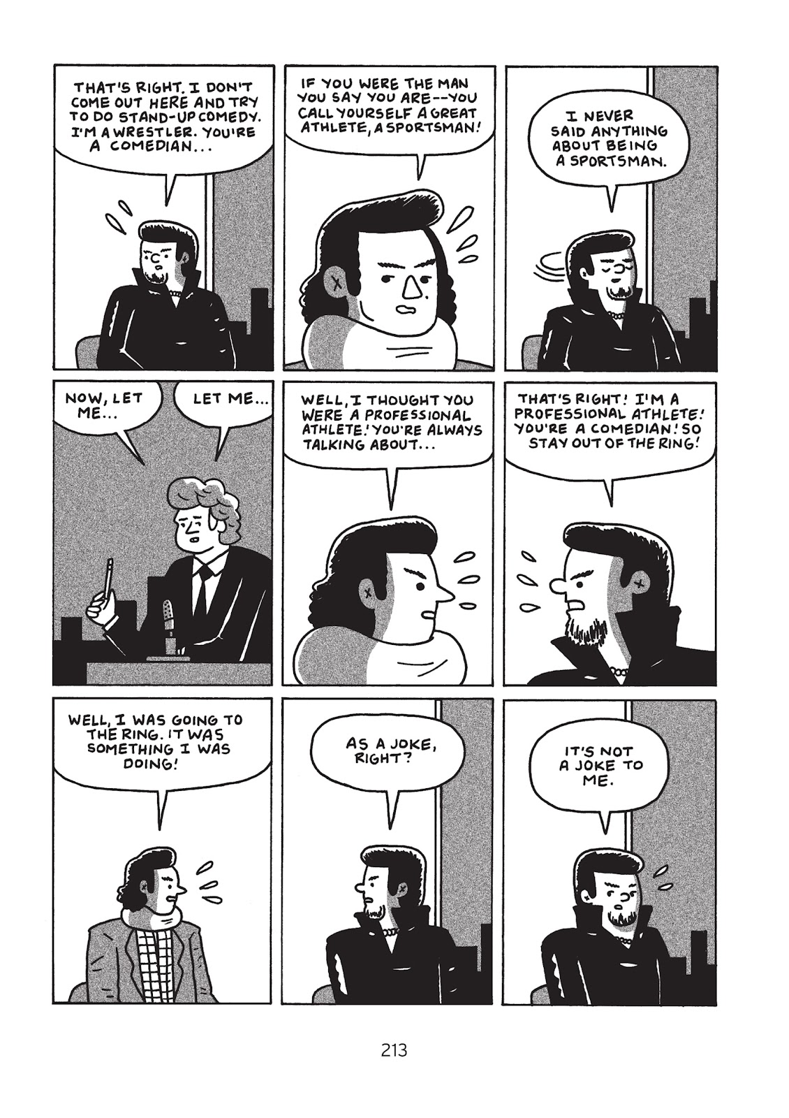 Read online Is This Guy For Real?: The Unbelievable Andy Kaufman comic -  Issue # TPB (Part 3) - 18