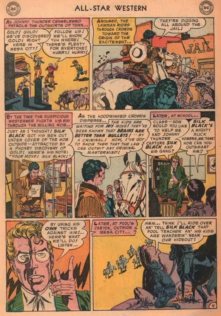 Read online All-Star Western (1951) comic -  Issue #87 - 6