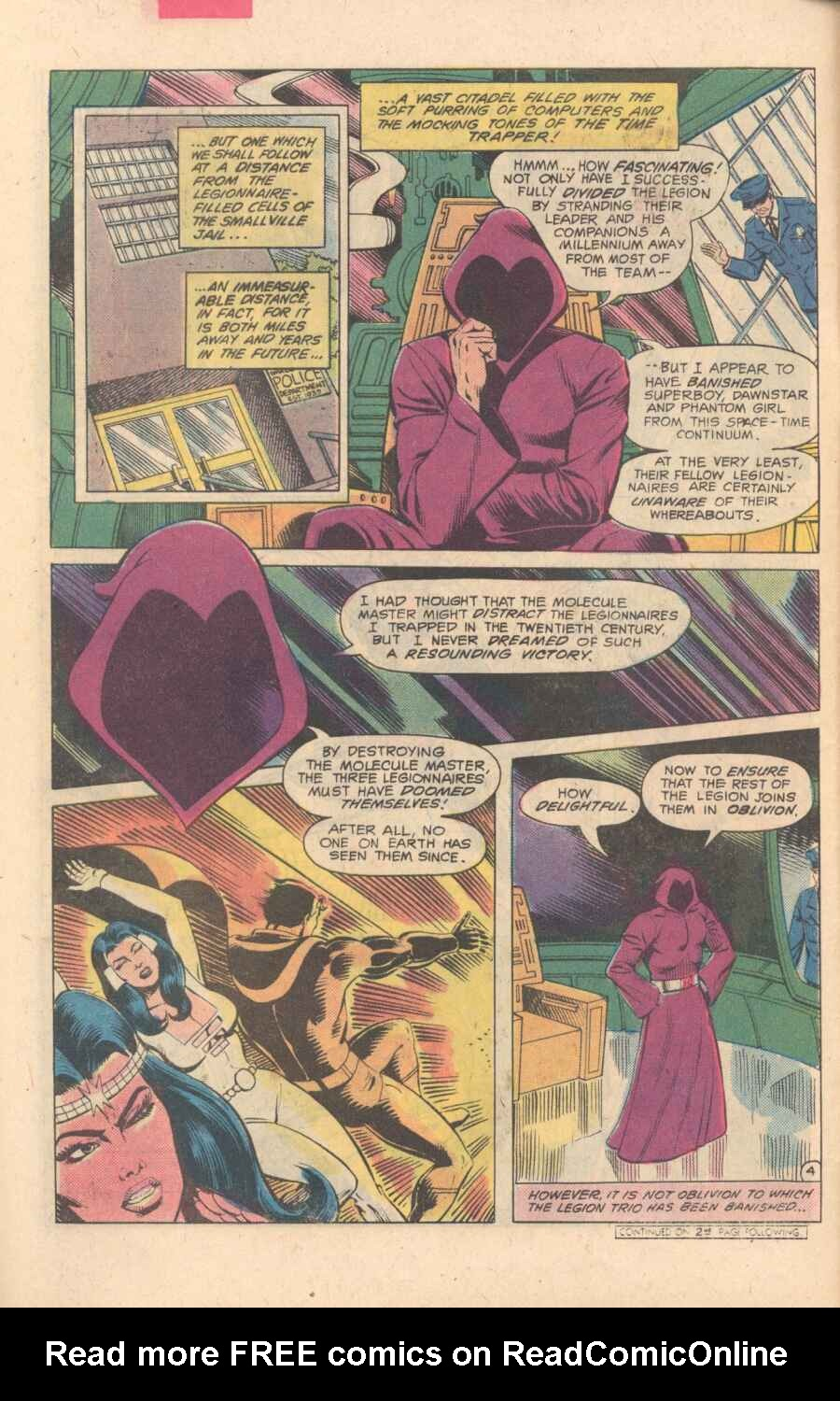 Legion of Super-Heroes (1980) 282 Page 4