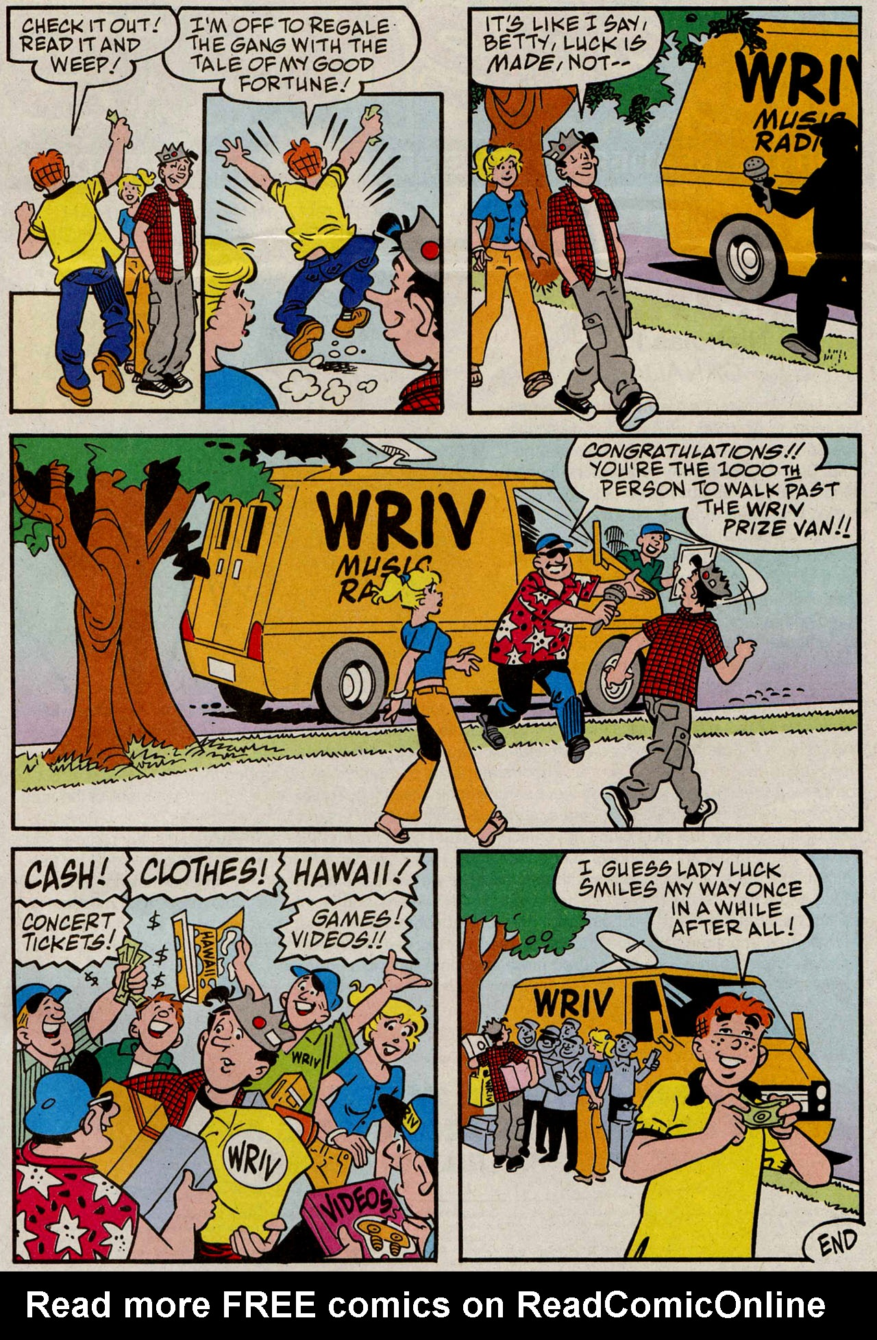 Read online Archie (1960) comic -  Issue #585 - 24