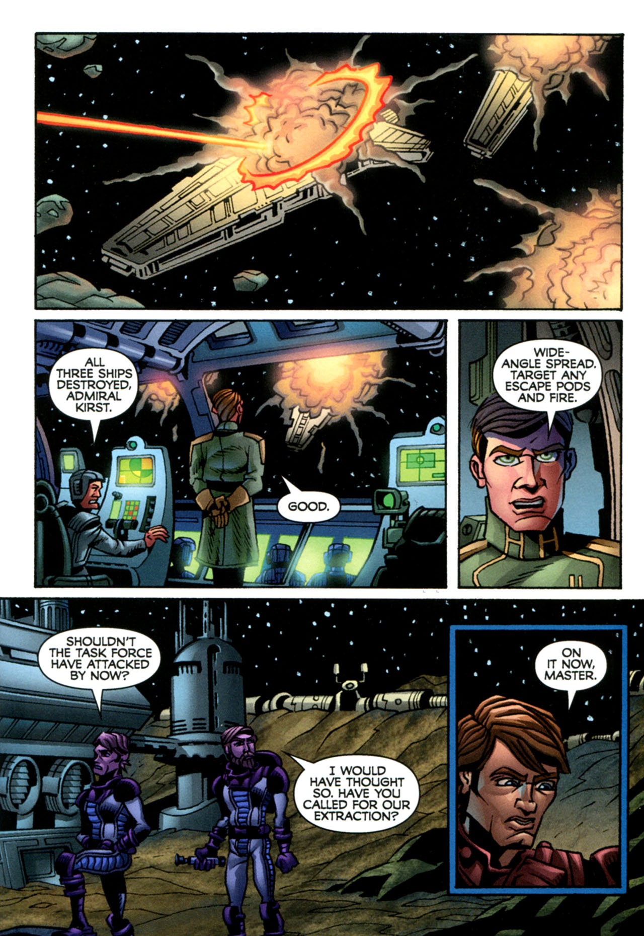 Read online Star Wars: The Clone Wars - The Starcrusher Trap comic -  Issue # Full - 16
