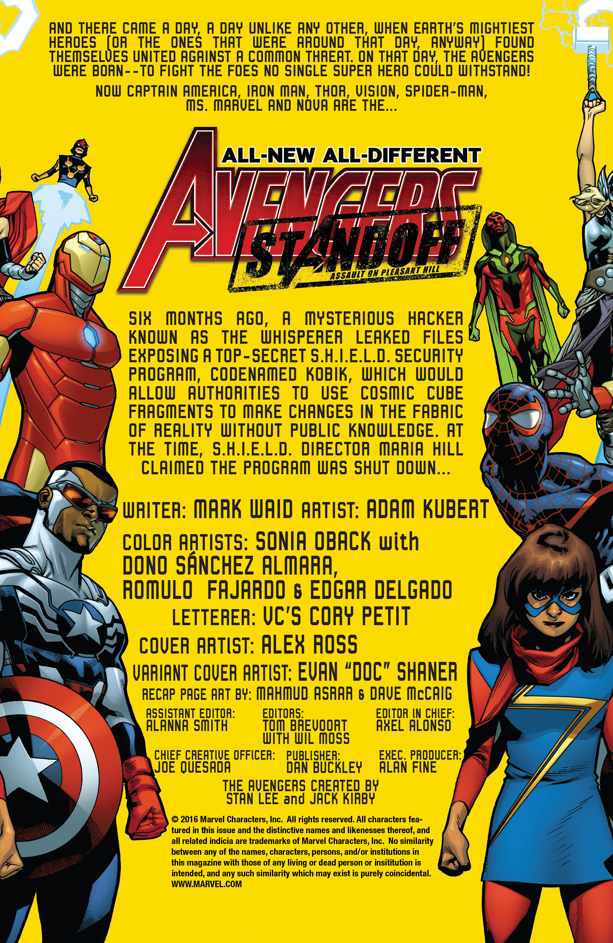 Read online All-New, All-Different Avengers comic -  Issue #7 - 2