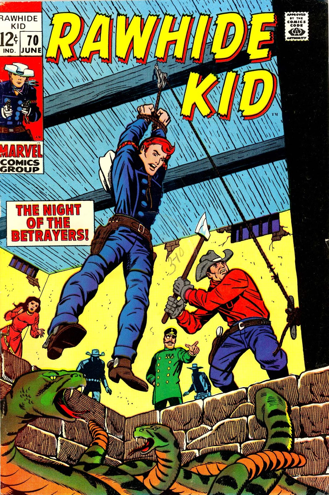 The Rawhide Kid (1955) issue 70 - Page 1