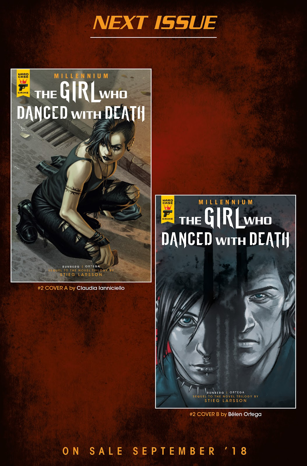 Read online Millennium: The Girl Who Danced With Death comic -  Issue #1 - 60